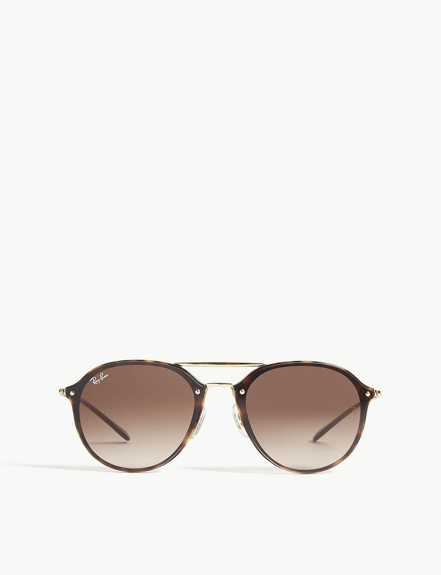 7868c1f1db Ray-Ban Rb4292 Blaze Square-frame Sunglasses in Brown - Lyst