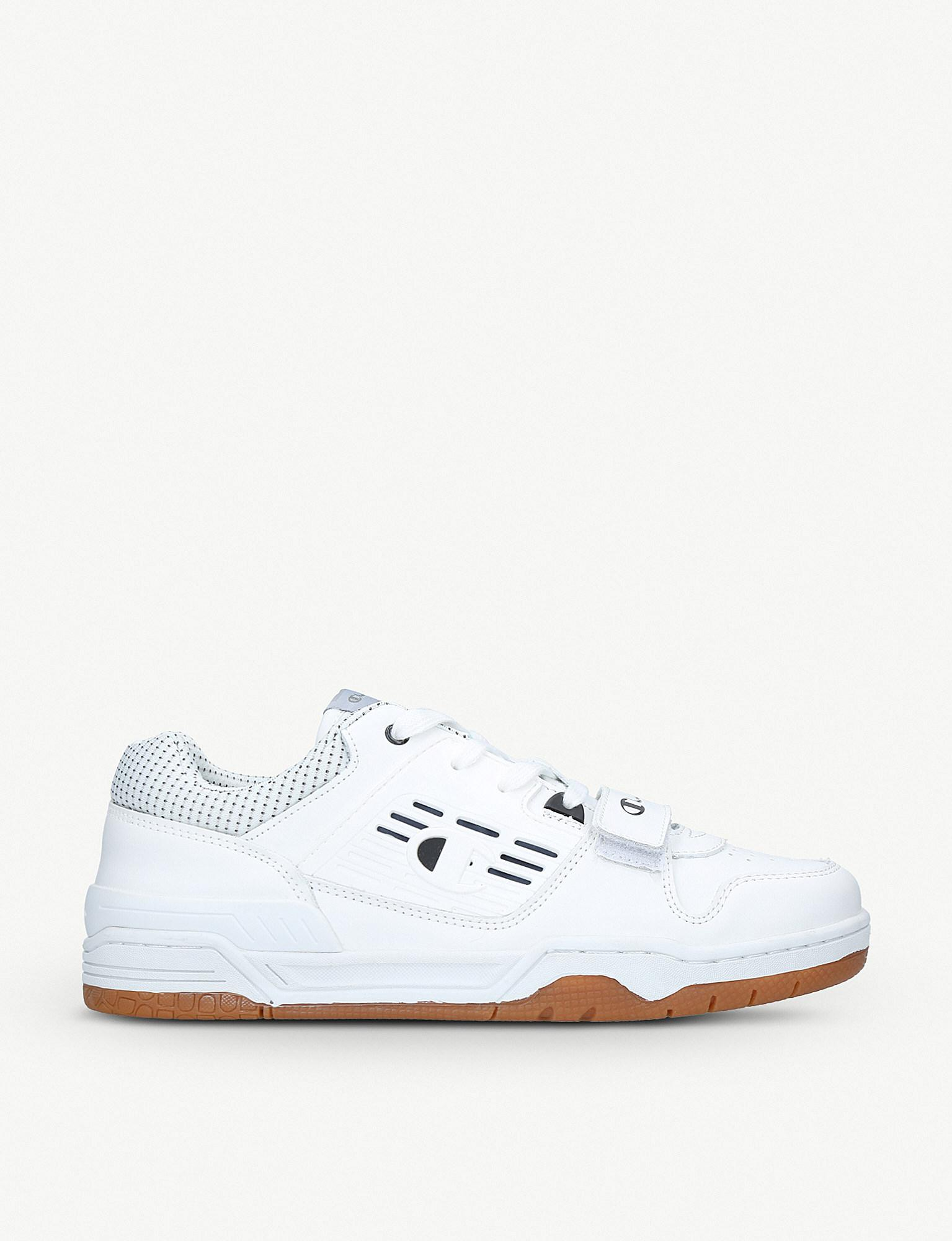 1feec13c586 Champion 3 On 3 Leather Low-top Trainers in White for Men - Lyst