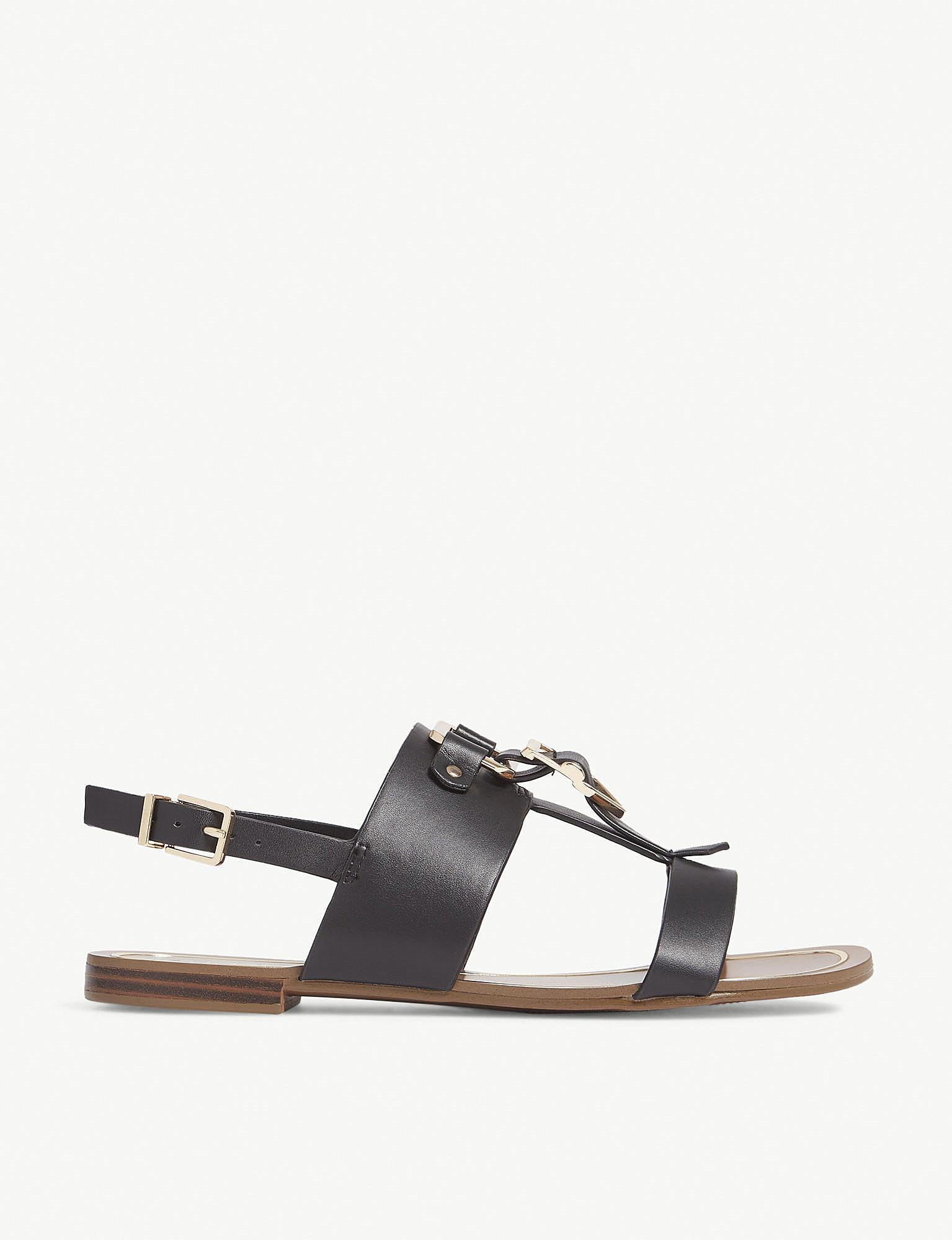 d472deca2b45 Lyst - ALDO Afiarien Buckle Sandals in Black