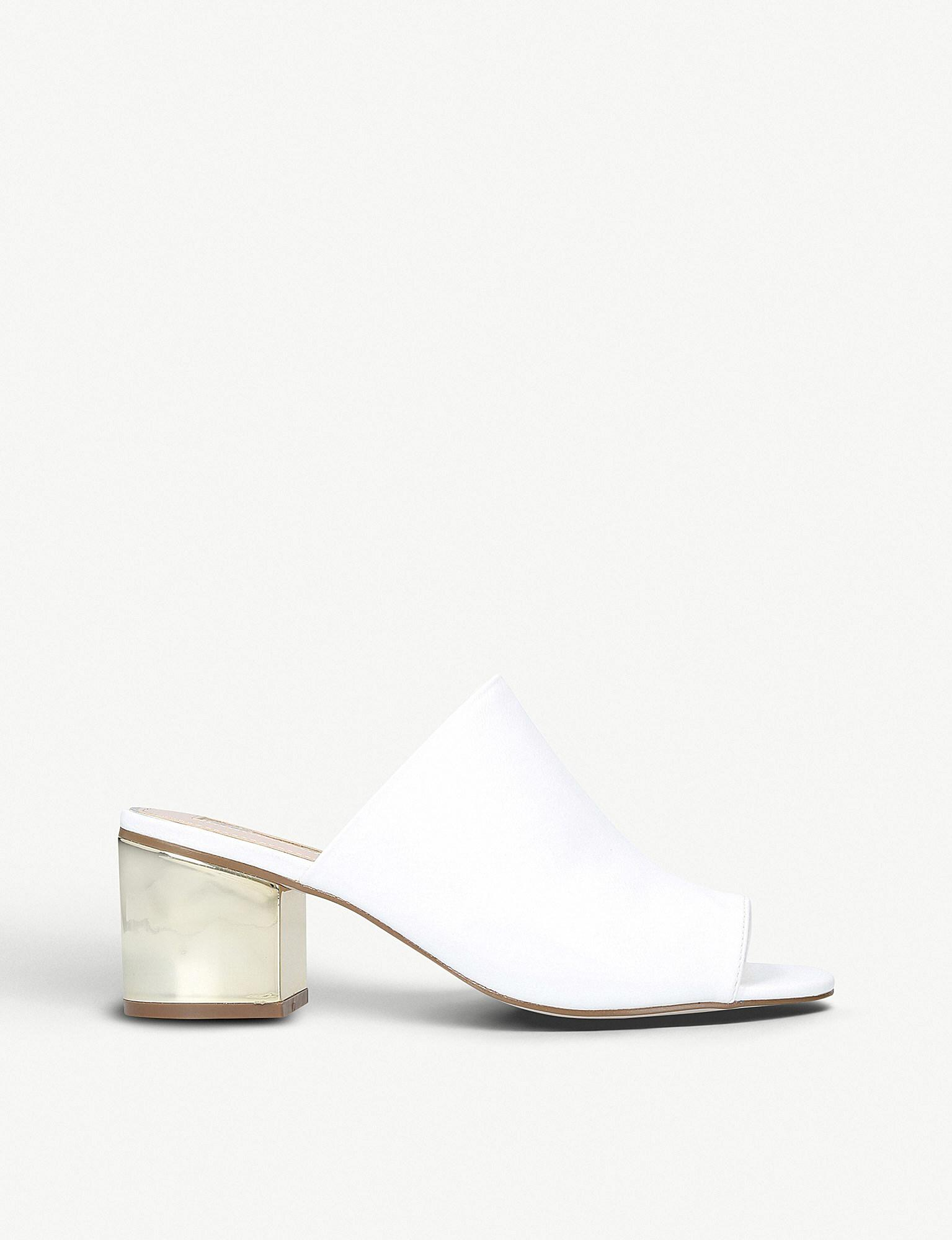 Miss KG PEGGY - Heeled mules - white Rsb5wFuu2J
