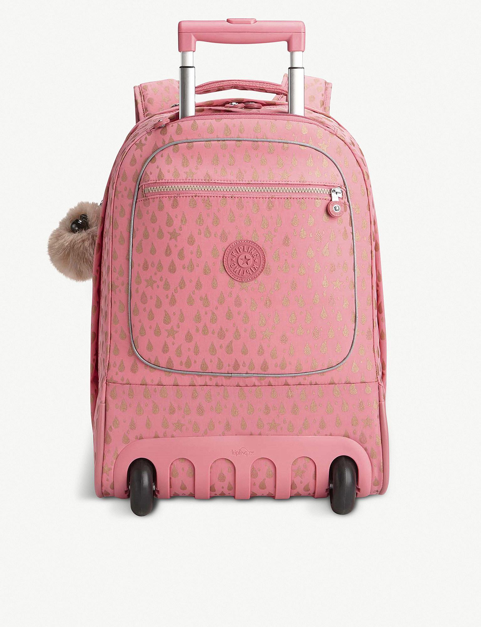 68c5d06c7 Kipling Clas Soobin Wheeled Backpack in Pink - Lyst