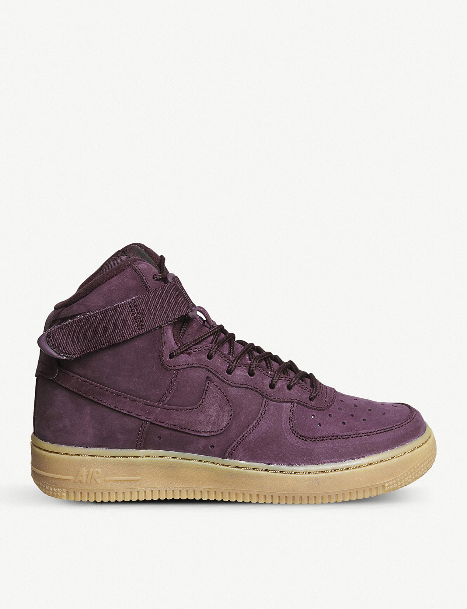 Lyst Nike Air Force 1 Suede High top Trainers