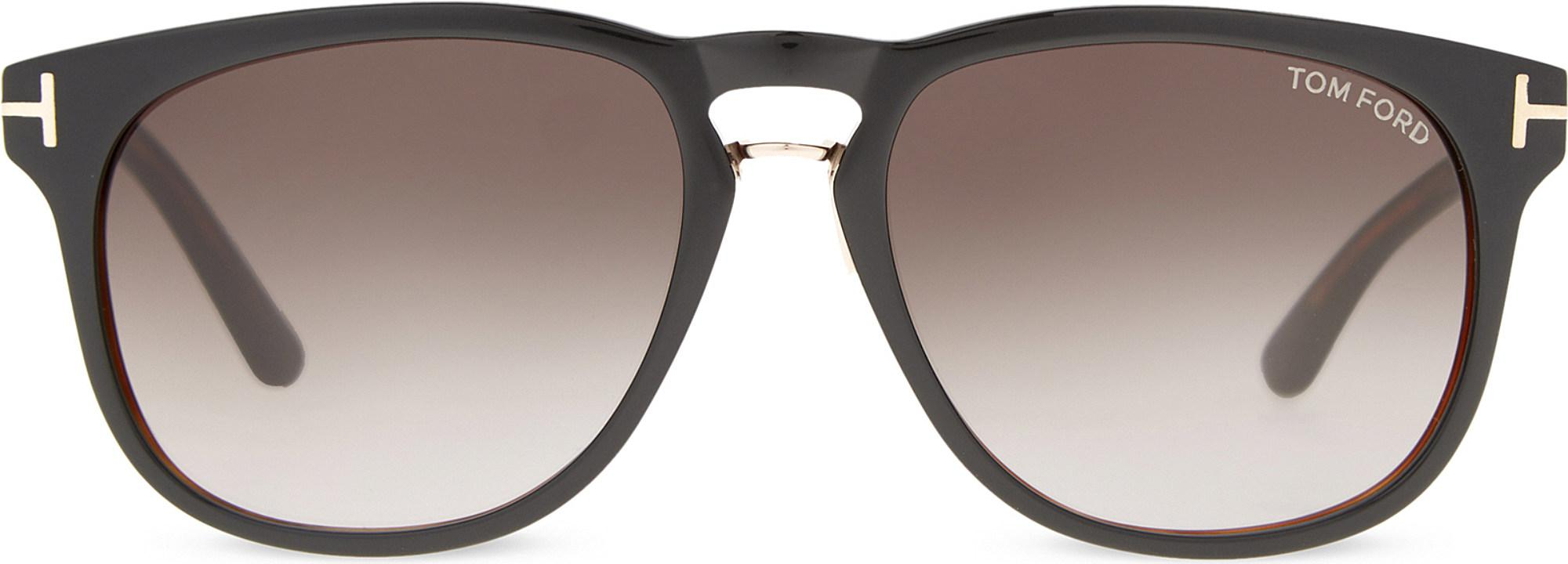 4d90ce78e5f Tom Ford Franklin Tf346 Square-frame Sunglasses in Brown for Men - Lyst