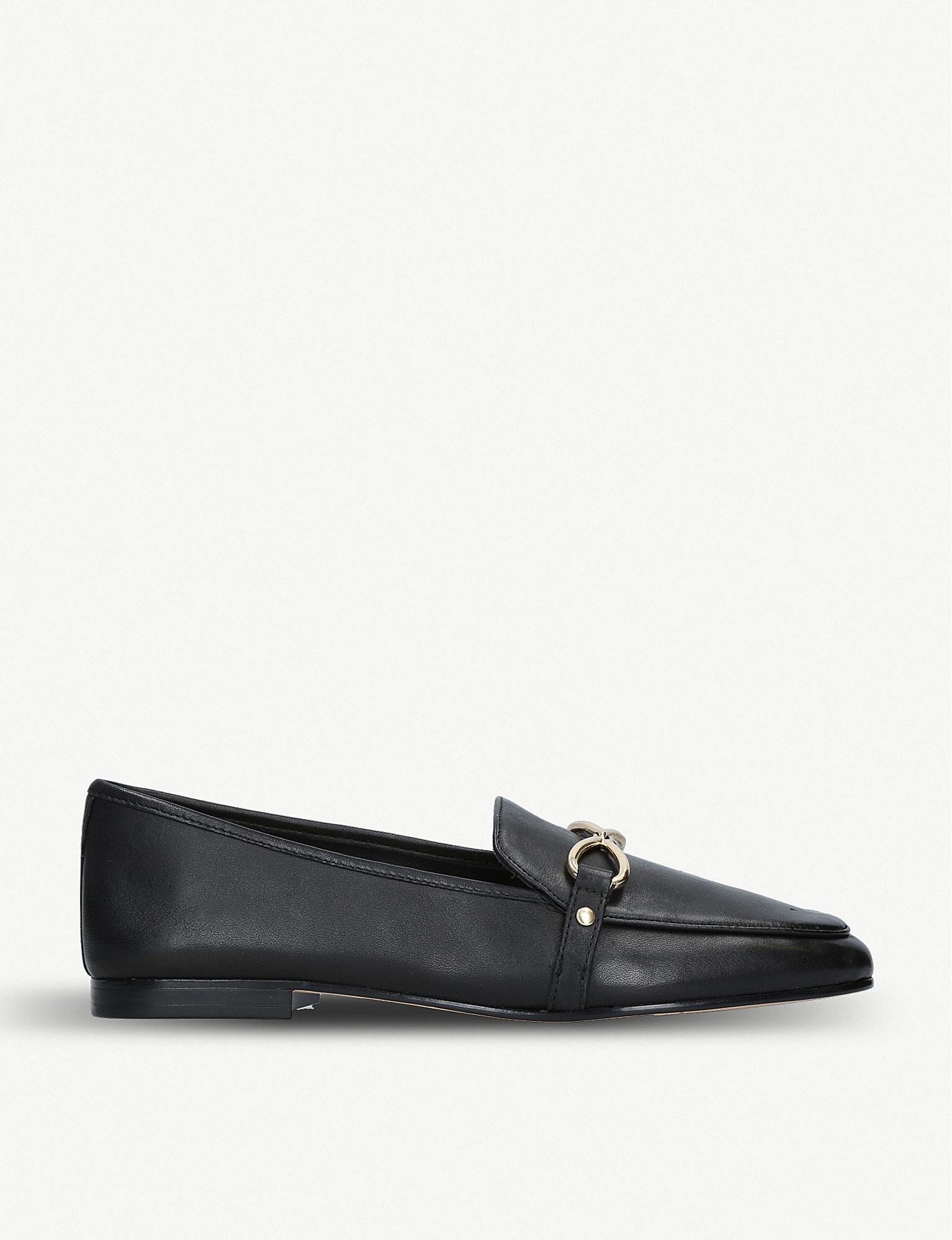 5d5661de8ba Lyst - ALDO Afaucia Leather Loafers in Black