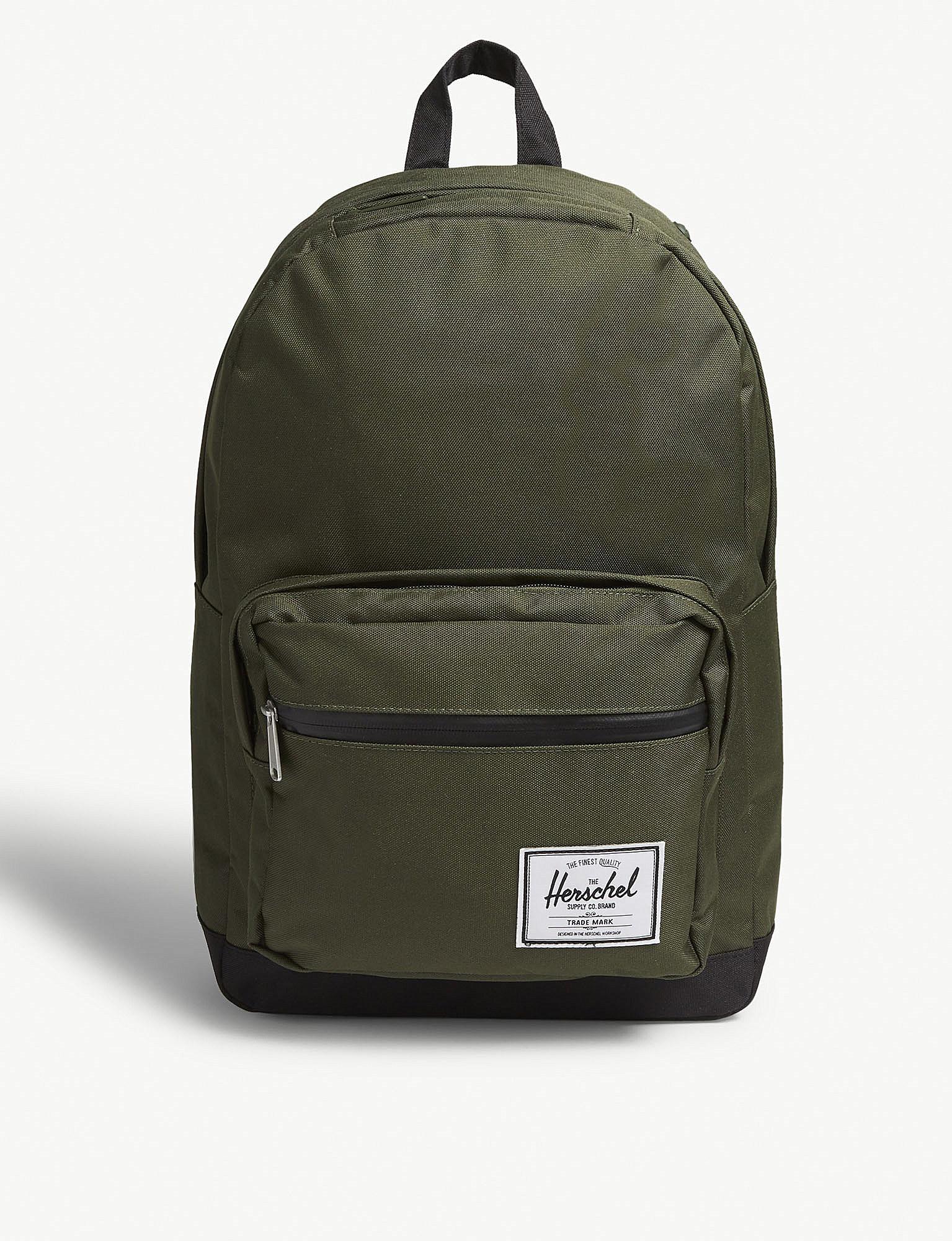 df330aae13a Herschel Supply Co. . Green Woven Pop Quiz Backpack in Green for Men ...