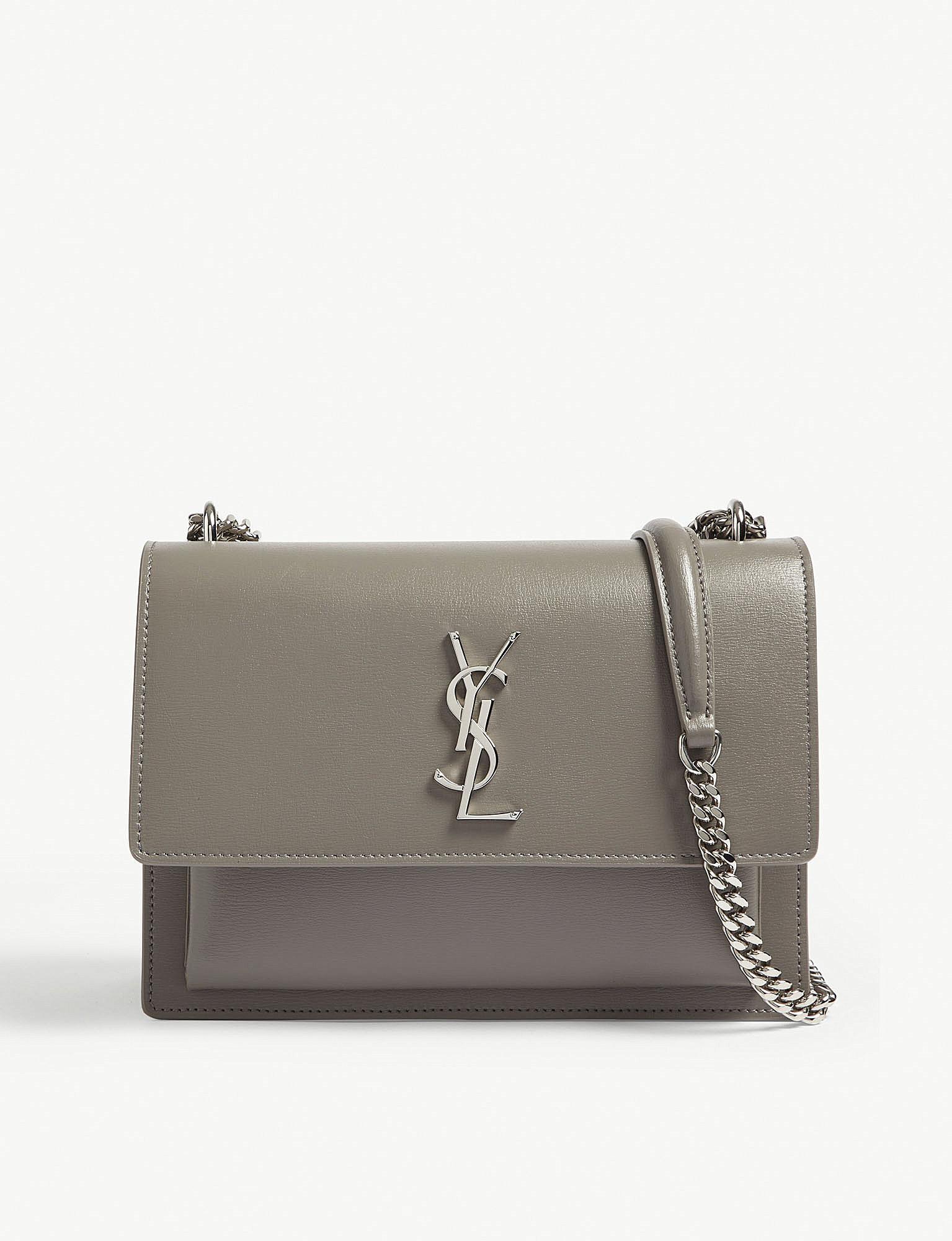 Sunset medium leather cross-body bag Saint Laurent PSHMfnGtRc