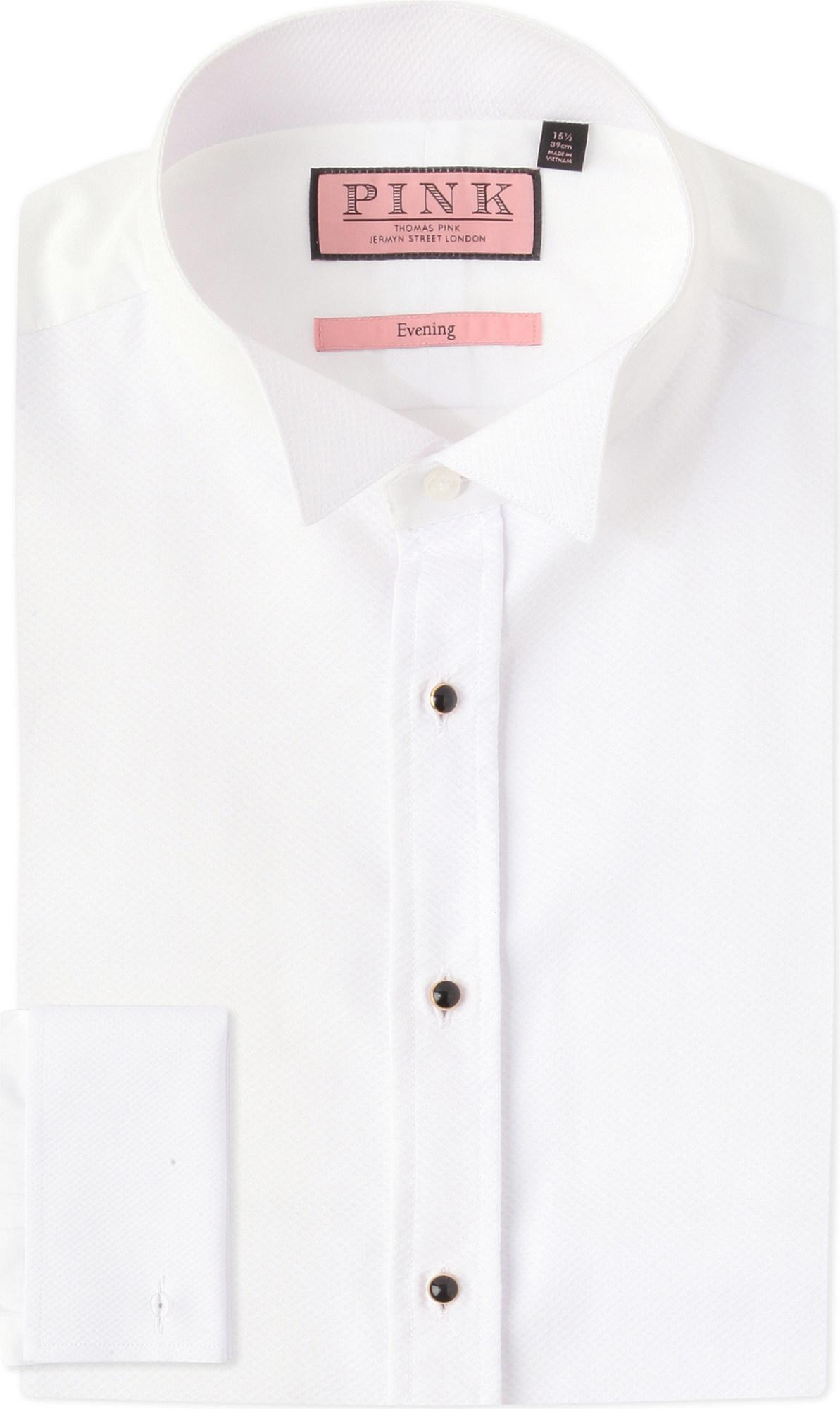 Lyst Thomas Pink Marcella Evening Wing Collar Slim Fit Cotton