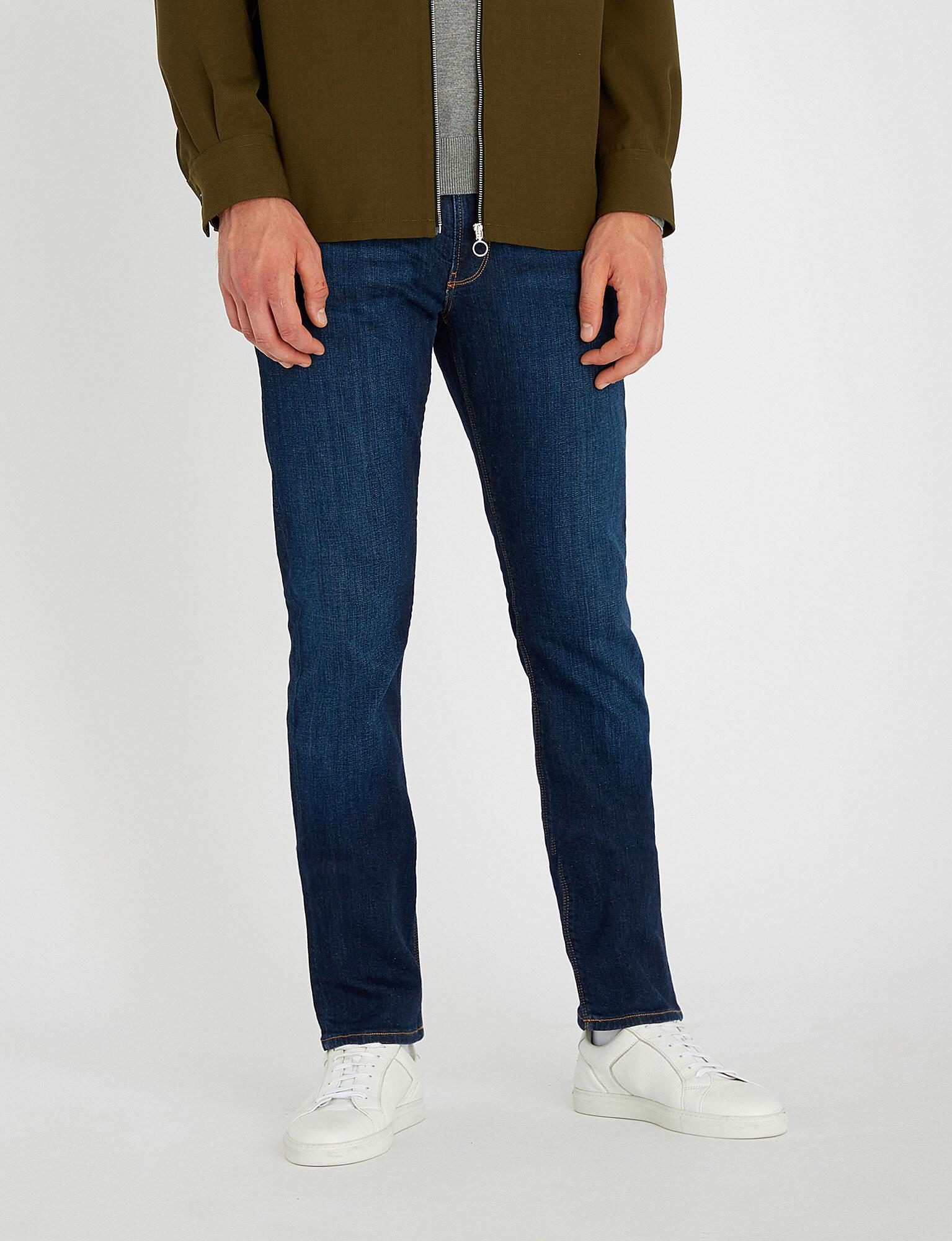 71bb2dbadf1ff Lyst - Emporio Armani J06 Slim-fit Skinny Jeans in Blue for Men