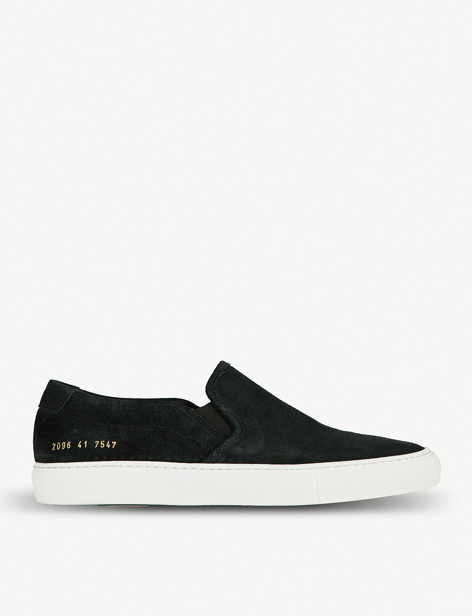 Mens Skate Suede & Leather Sneakers Common Projects Ugmu1