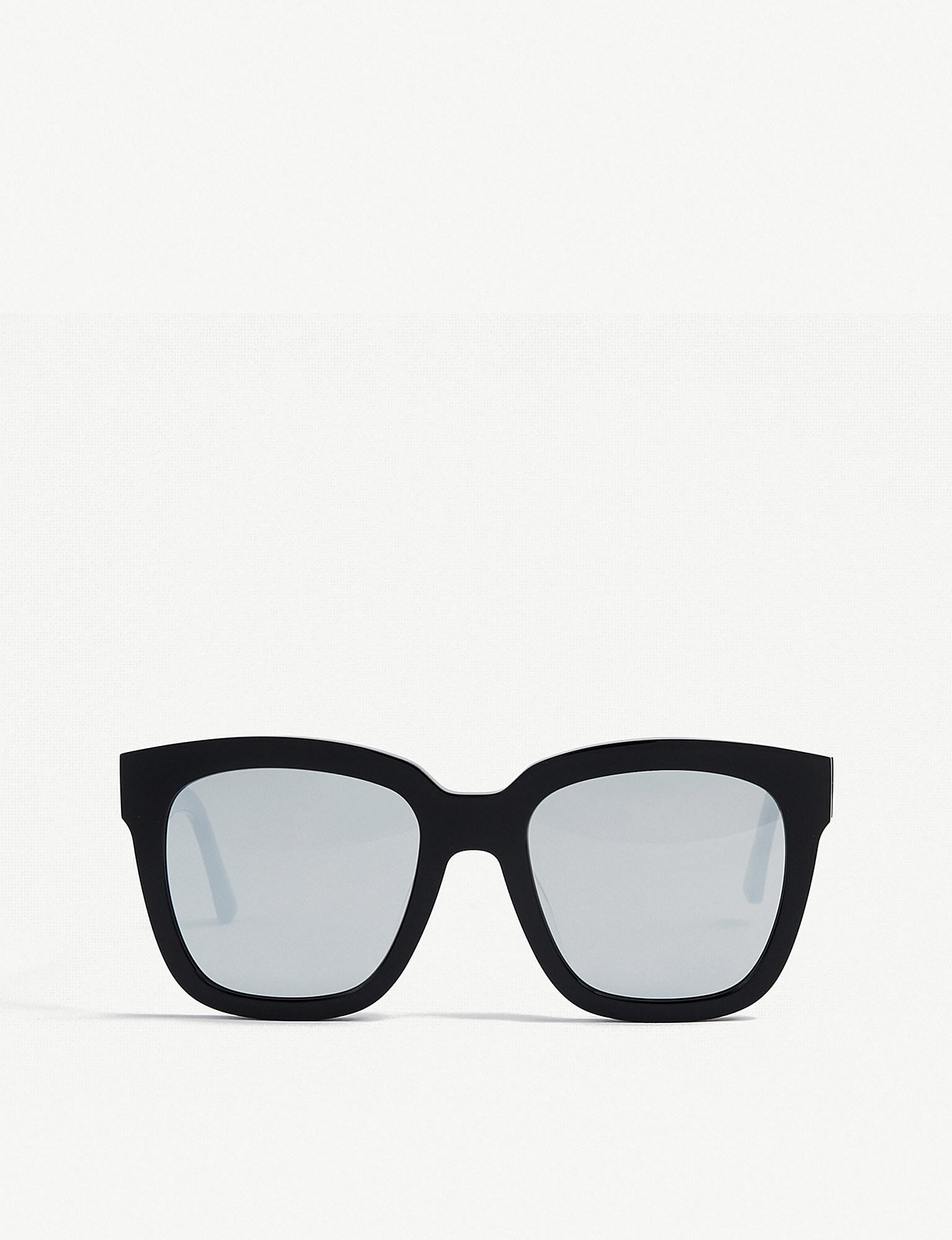 ad49a47520 Gentle Monster Dreamer Hoff Mirrored Acetate Sunglasses in Black - Lyst