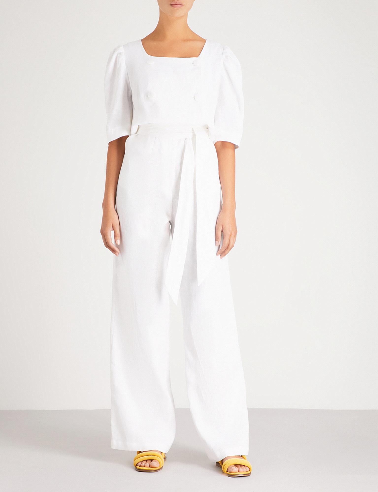 Diana linen jumpsuit Lisa Marie Fernandez Cheap And Nice Clearance Clearance Store Cheapest Price Cheap Online xxHH5