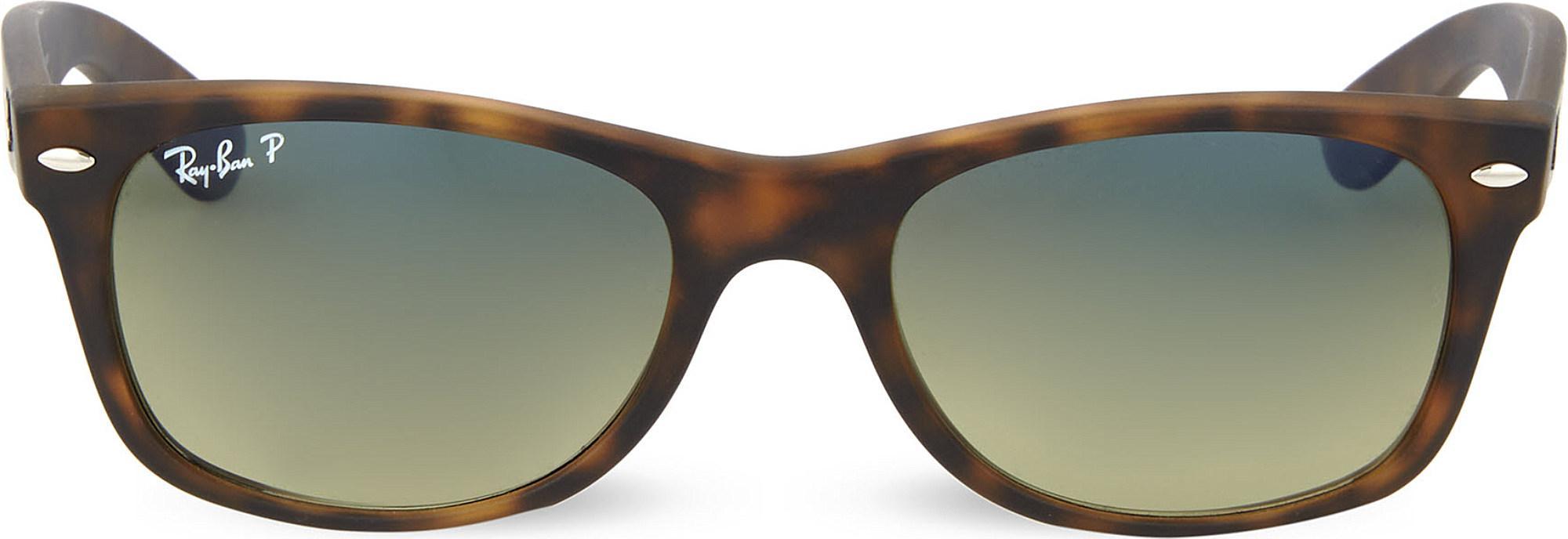 ec49c190329 Ray-Ban. Women s Brown Tortoiseshell Matte Finish Wayfarer Sunglasses ...