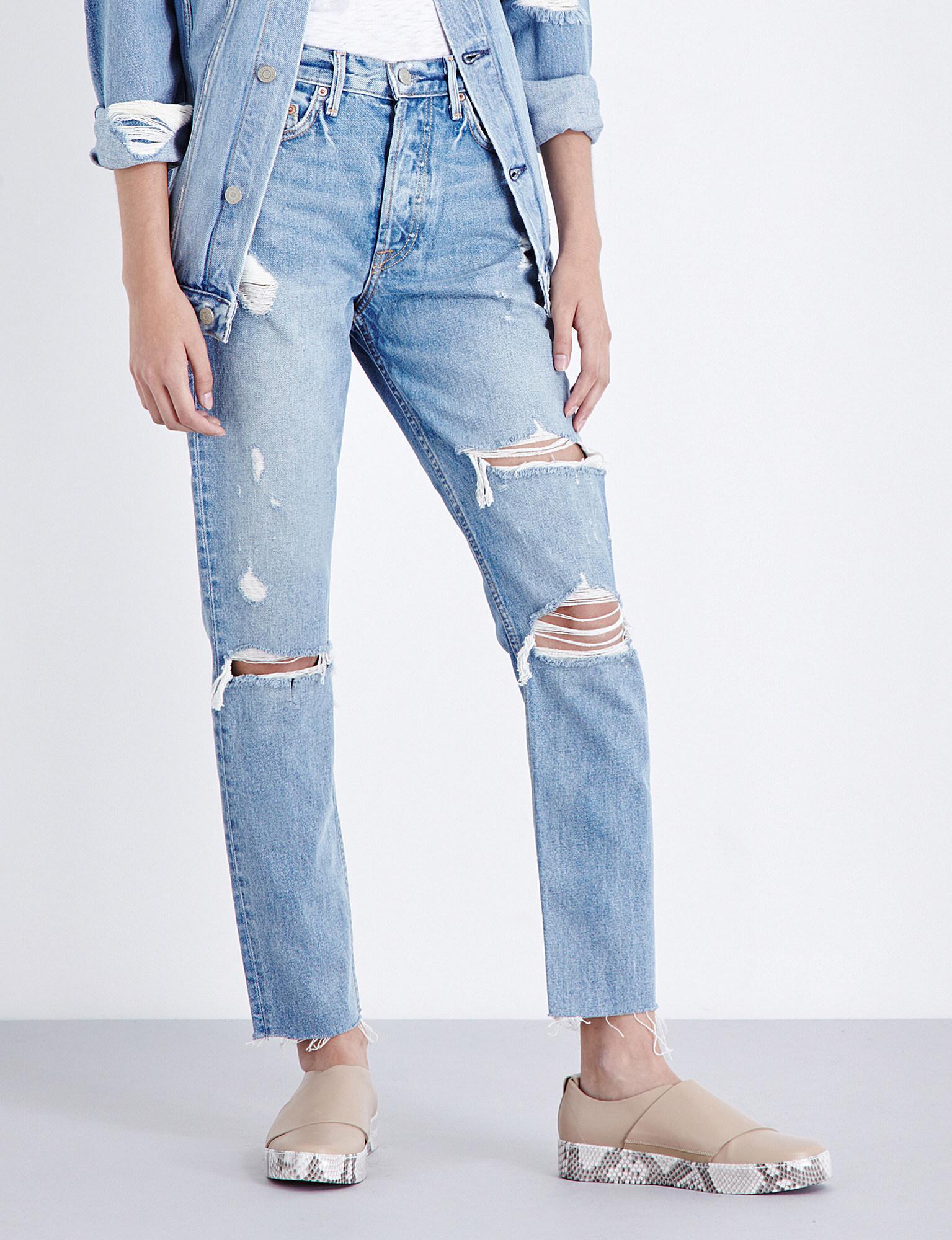 A Little More Love jeans - Blue GRLFRND oNPZEtxn