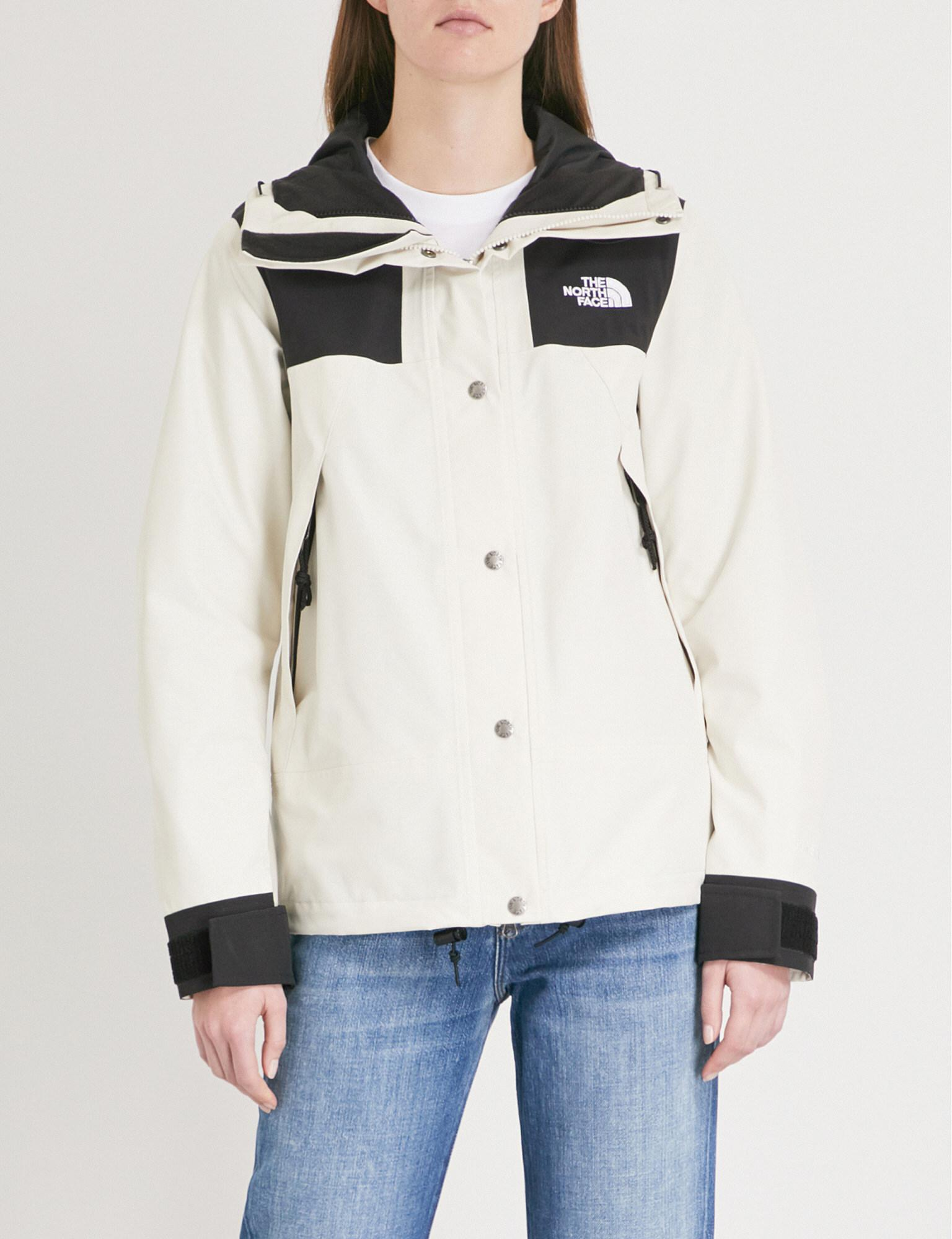 Lyst - The North Face Mountain Hooded Shell Jacket in White f7575faab