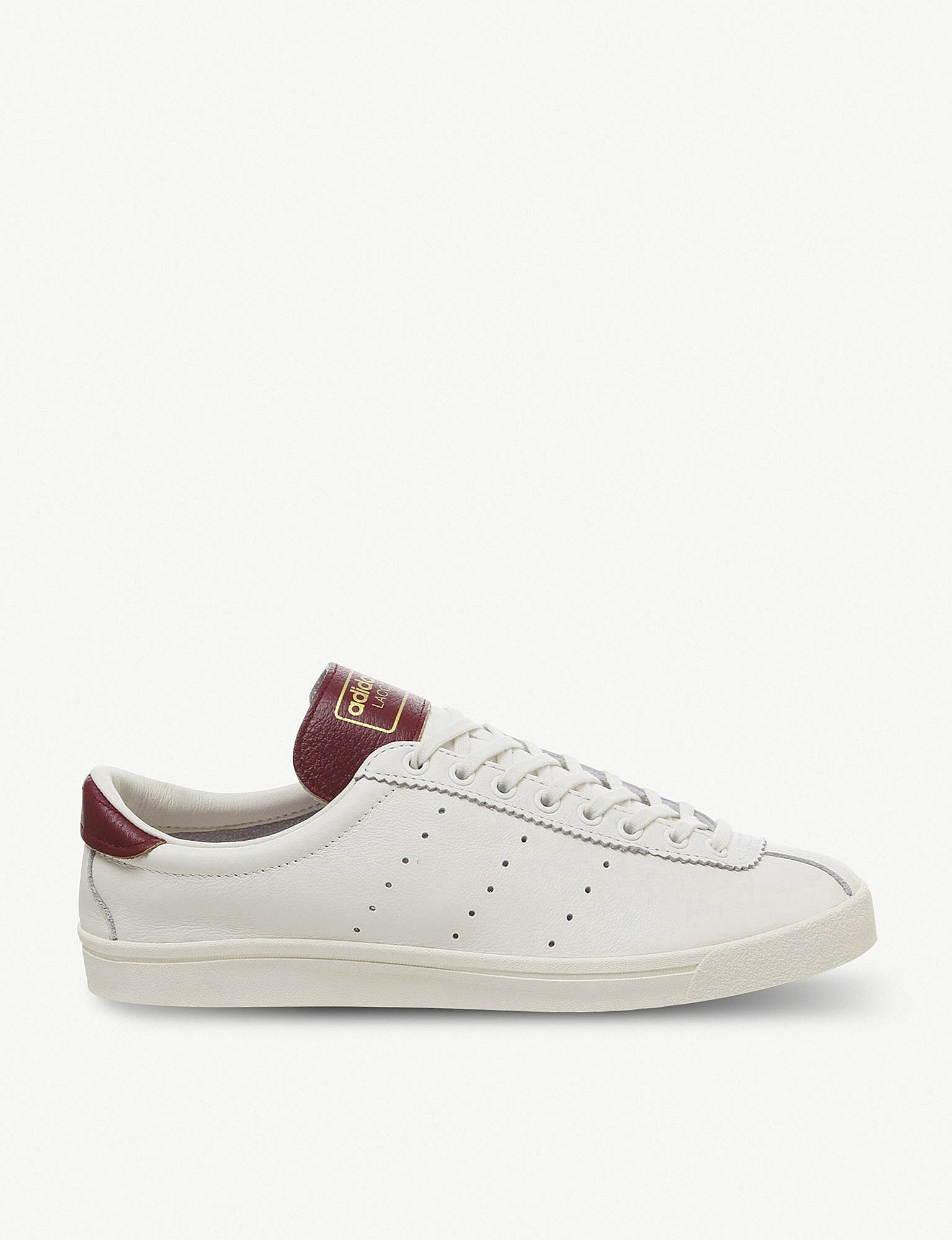 wholesale dealer 8d1a7 88199 Lyst - adidas Lacombe Spezial Leather Trainers in White for Men