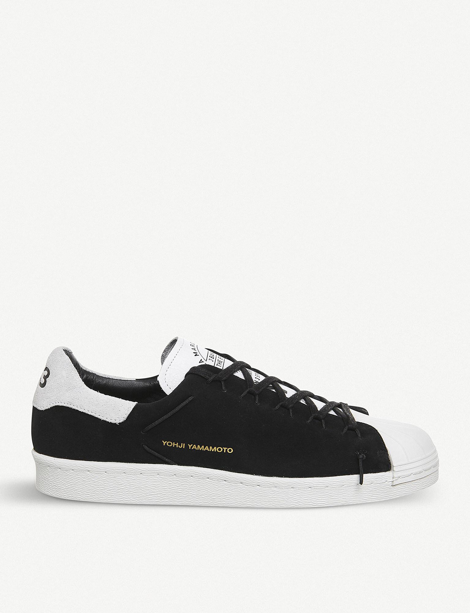 Up To Date Superknot Superstar suede low-top trainers Yohji Yamamoto Marketable Sale Online Discount Cheapest Shopping Online Sale Online Sale Store VsFMd