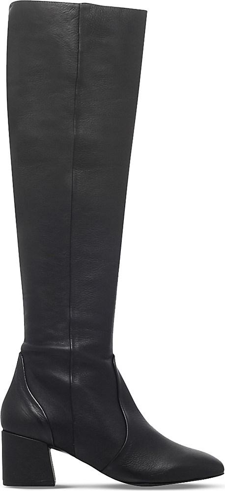 carvela kurt geiger warsaw leather knee high boots in