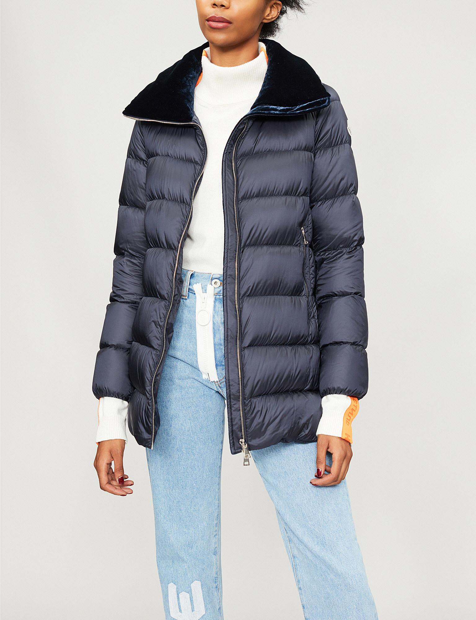 855d33507 Moncler Torcol Quilted Shell-down Coat in Blue - Lyst