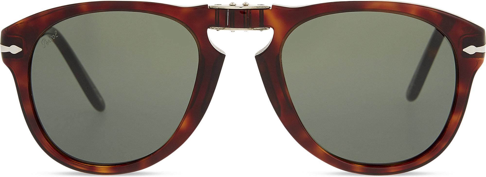 24c970e737a55 Lyst - Persol Po2431 Tortoiseshell Square-frame Sunglasses in Brown ...