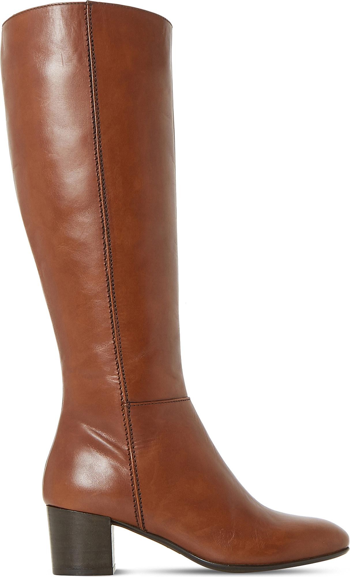 63538b2523b Dune Ladies Tan Classic Tarak Leather Boots in Brown - Lyst