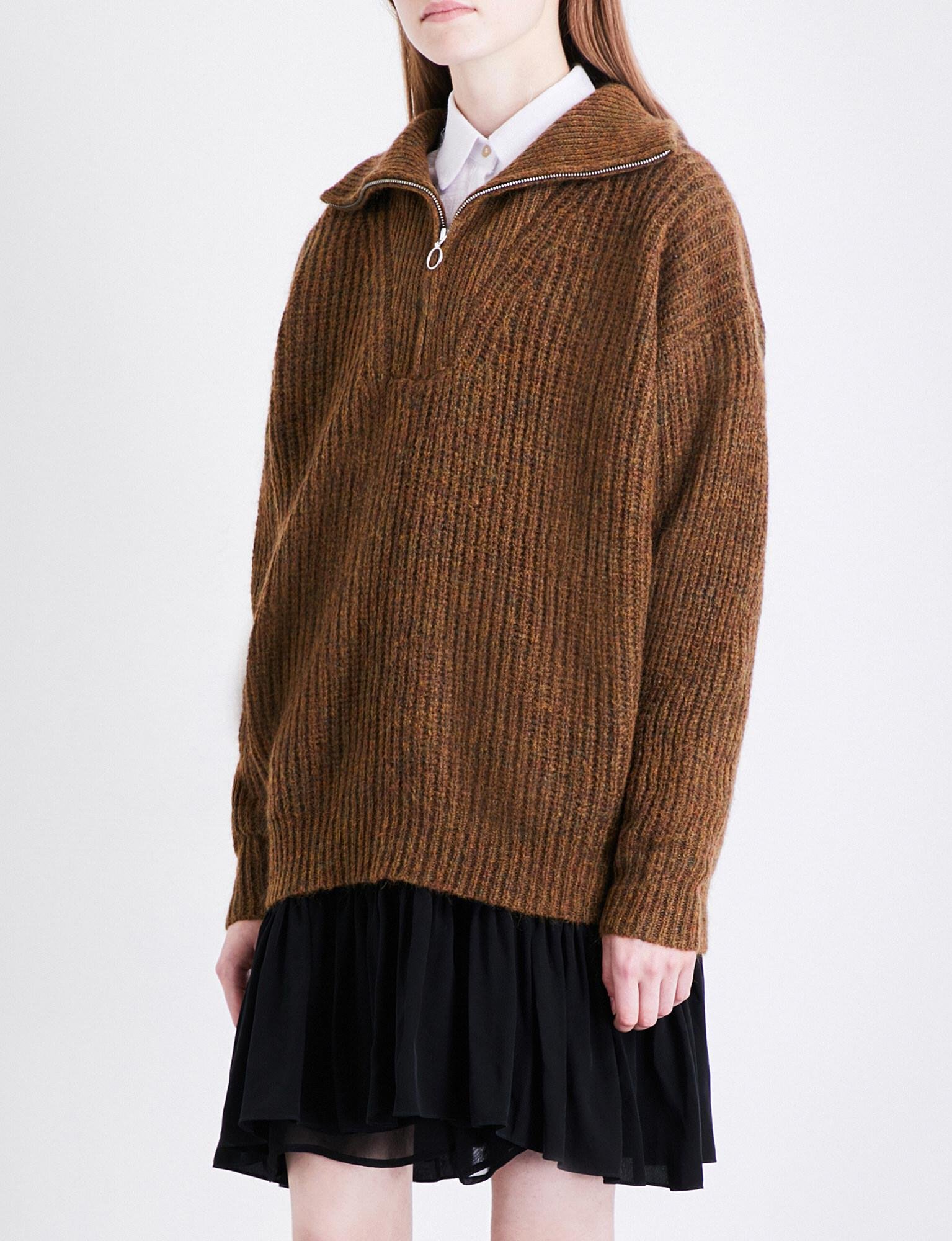 f05e203812 Lyst - Étoile Isabel Marant Declan Oversized Knitted Jumper in Brown