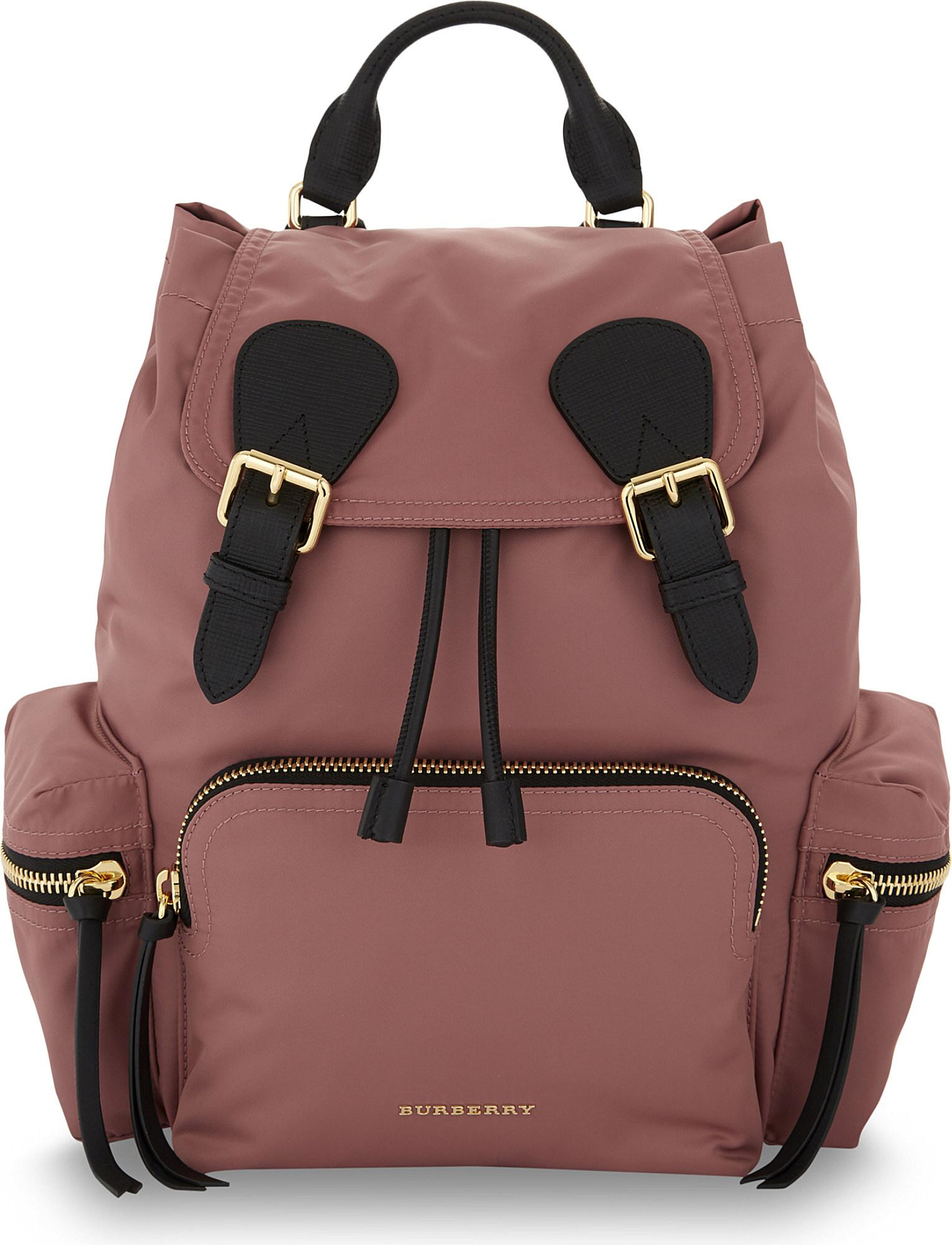 Burberry - Purple Prorsum Medium Nylon Backpack - Lyst. View fullscreen 27c804abf647b