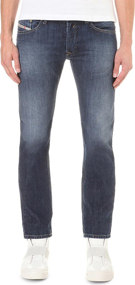 1c24c2b0 DIESEL Waykee 0855l Regular-fit Straight Jeans in Blue for Men - Lyst