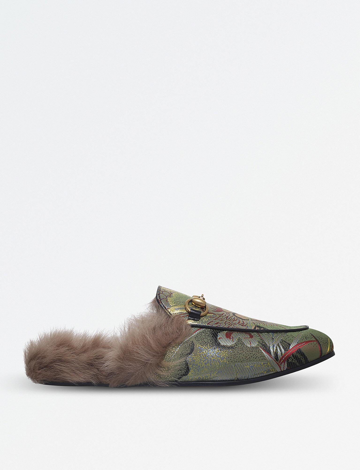 Gucci Jordaan Wool-Lined Slippers 8EP8eRi2