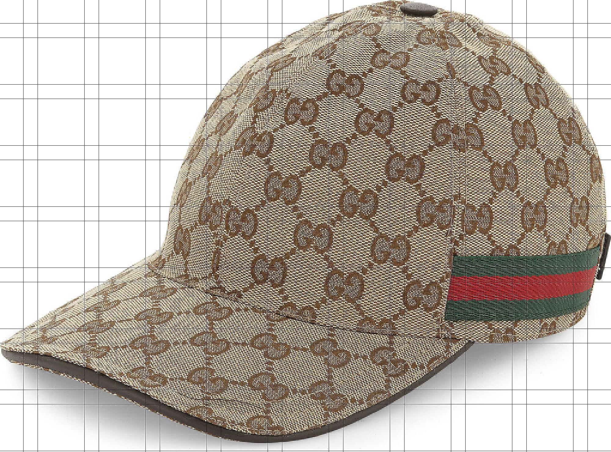 b42614641a00c Gucci Canvas Baseball Hat in Brown for Men - Save 15% - Lyst