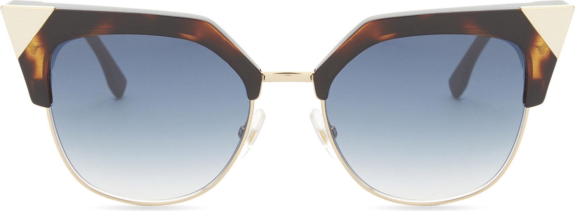 d6b486a886 Fendi. Women s Ff0149 s Iridia Cat-eye Frame Sunglasses