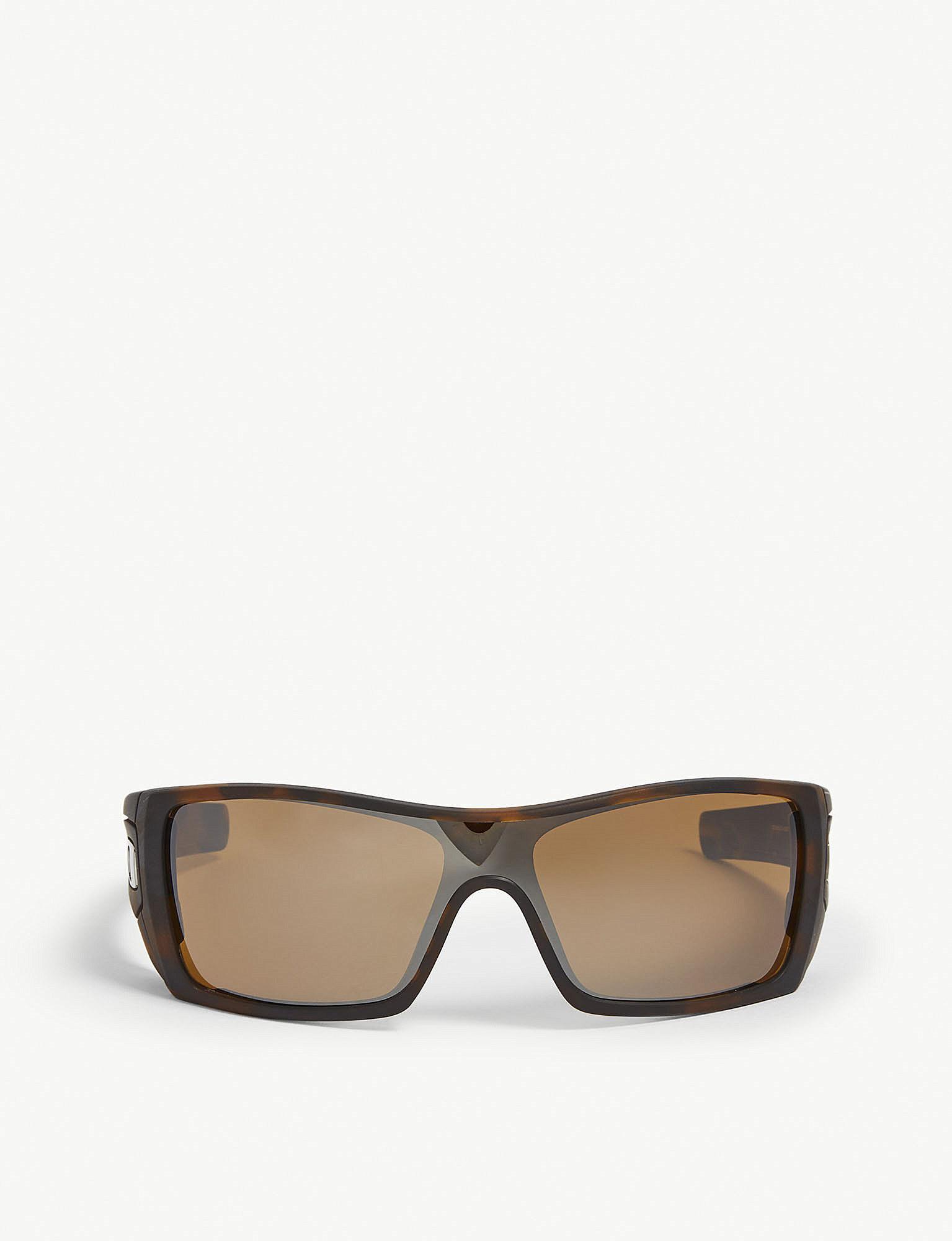 30d8daa8472 Oakley Batwolf Havana Rectangle-frame Sunglasses in Brown for Men - Lyst