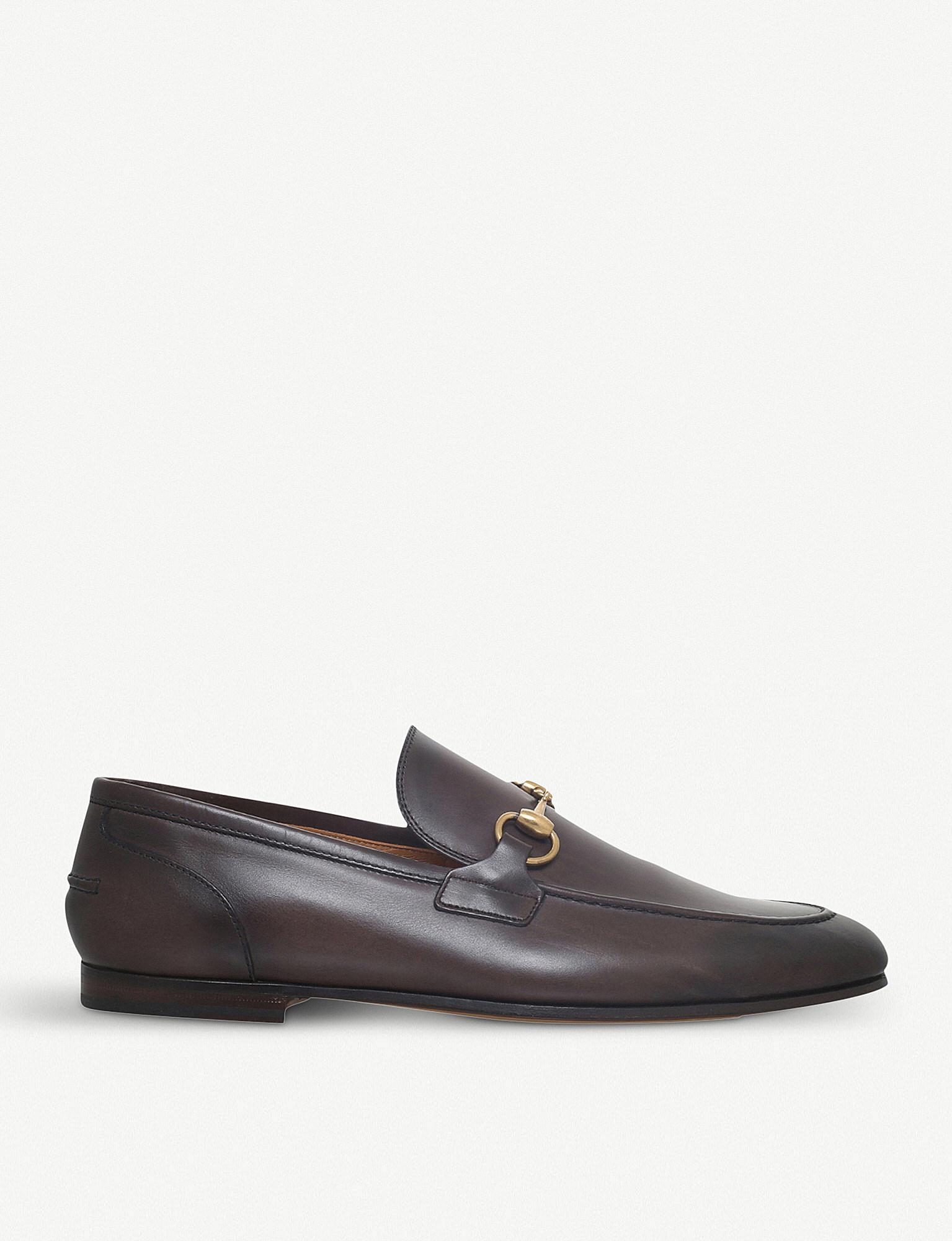 Gucci Jordaan Leather Moccasin Loafer x67j4ZJlVc