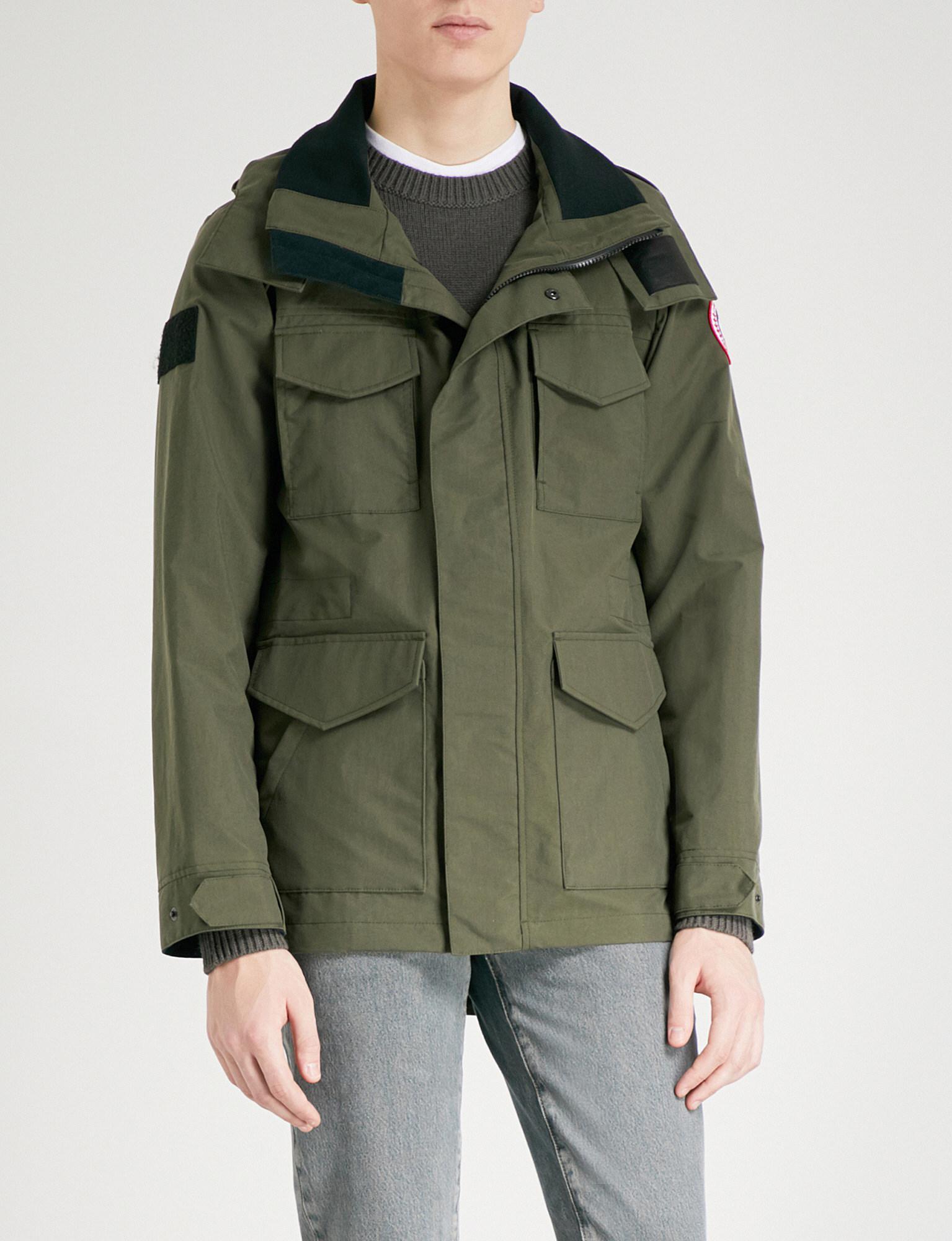 canada goose voyager hooded parka jacket