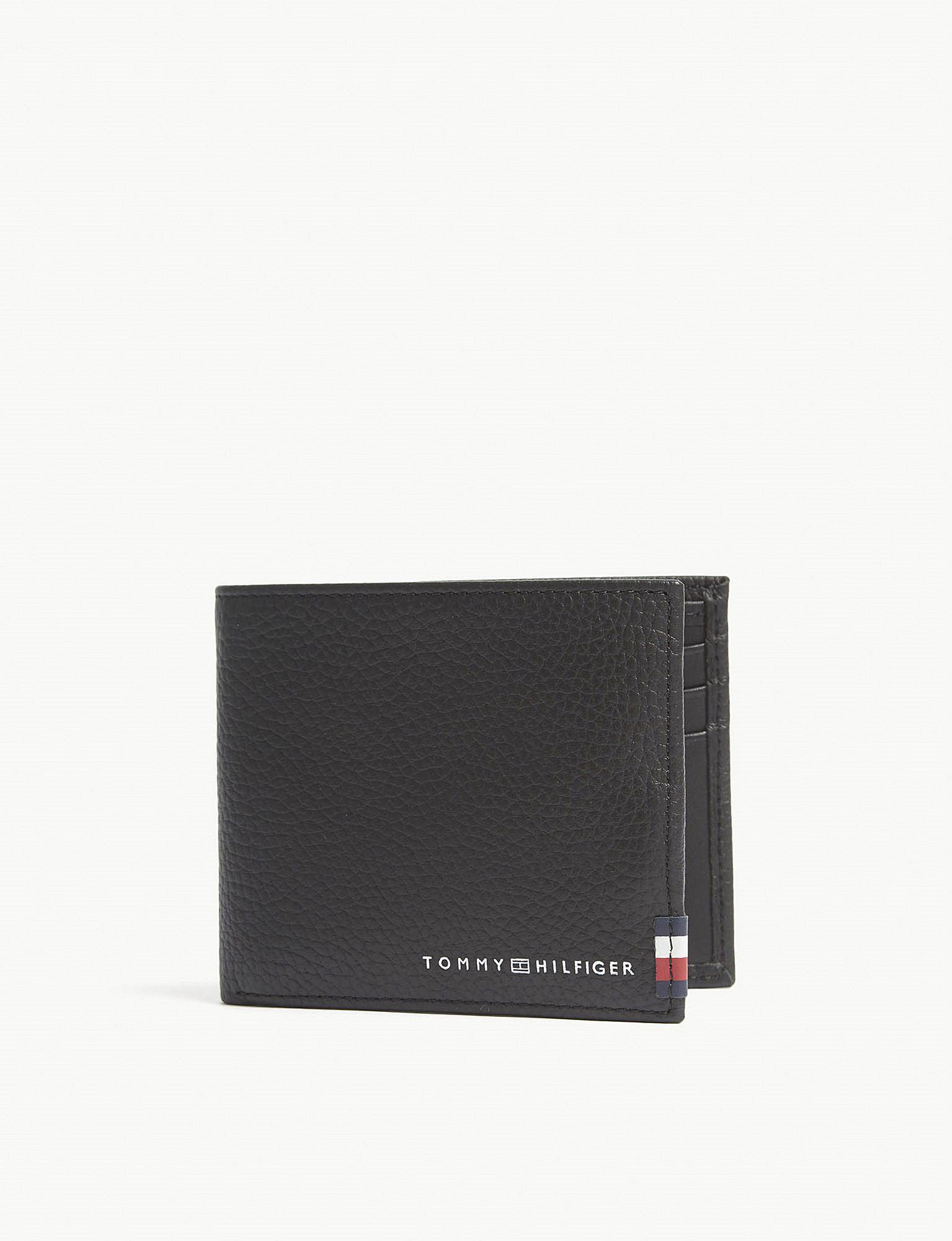 Tommy Hilfiger Icon Stripe Webbing Insert Mini Leather Wallet in 2018 Cool Cheap Sale 100% Guaranteed Sale Best Sale Clearance Authentic Cheap Release Dates 5RpwnPpbkD