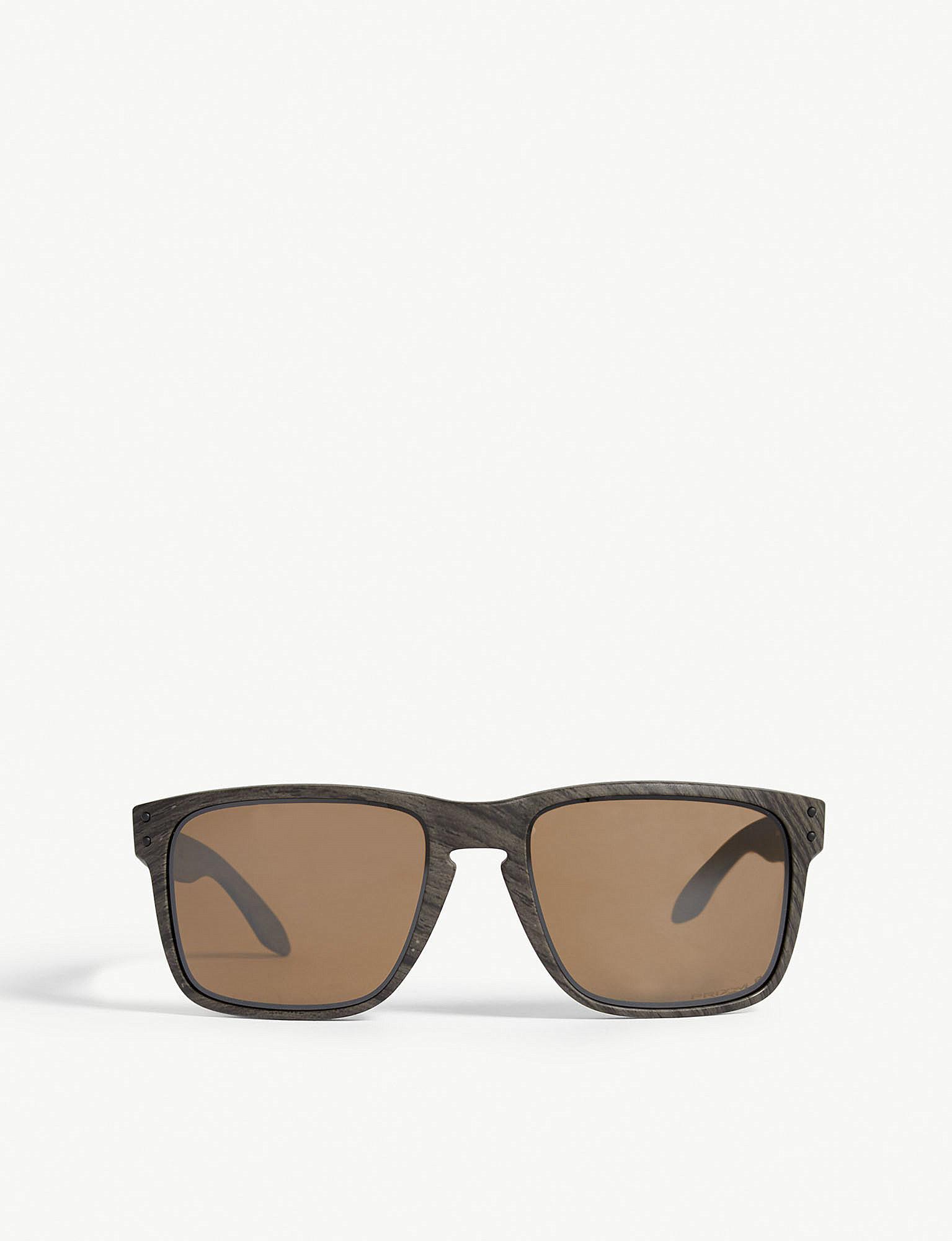 869b1c78d2 Oakley. Men s Brown Holbrook Xl O-matter Polarised Square-frame Sunglasses