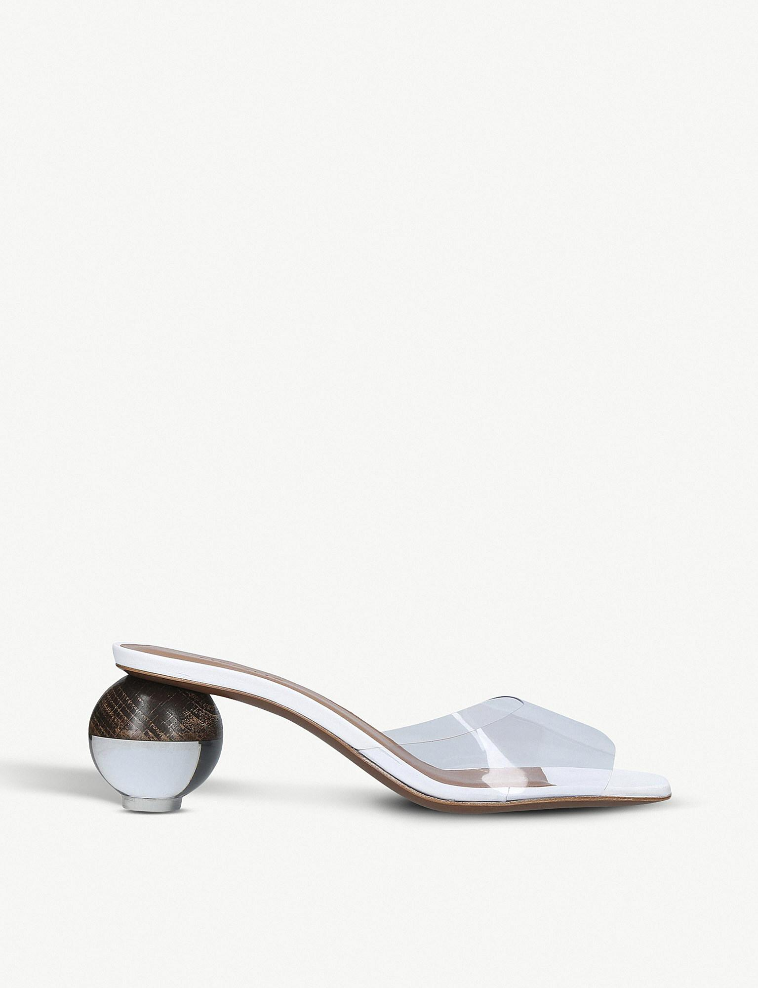 Lyst Neous And Opus Pvc Leather Mules Bf6Bqwx