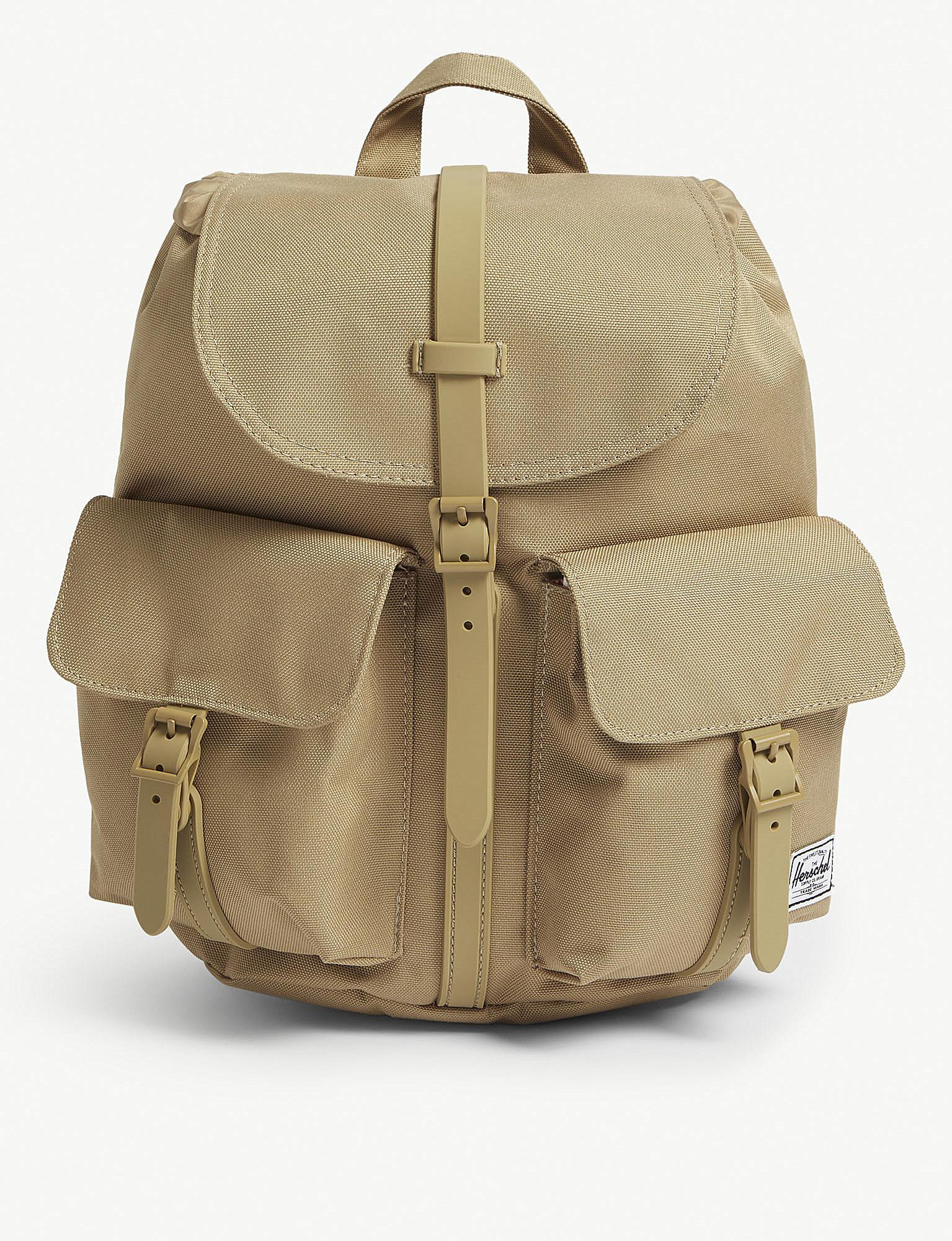 Herschel Supply Co. Canvas Dawson Backpack Xs in Natural - Lyst fe6e50d2e77bd