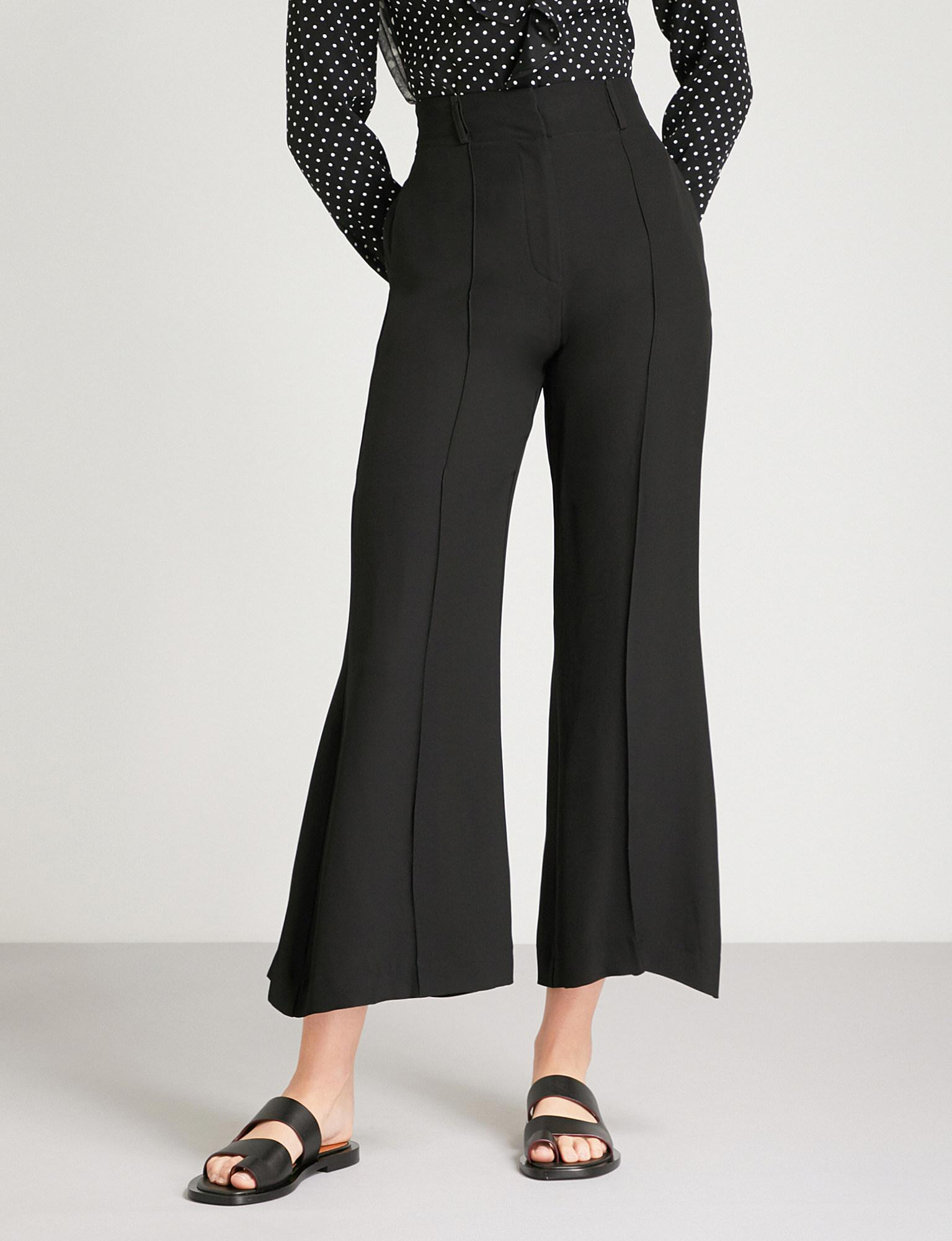 Sylvester Black Flared Trousers Finery Cheap From China Deals t3V3TOS