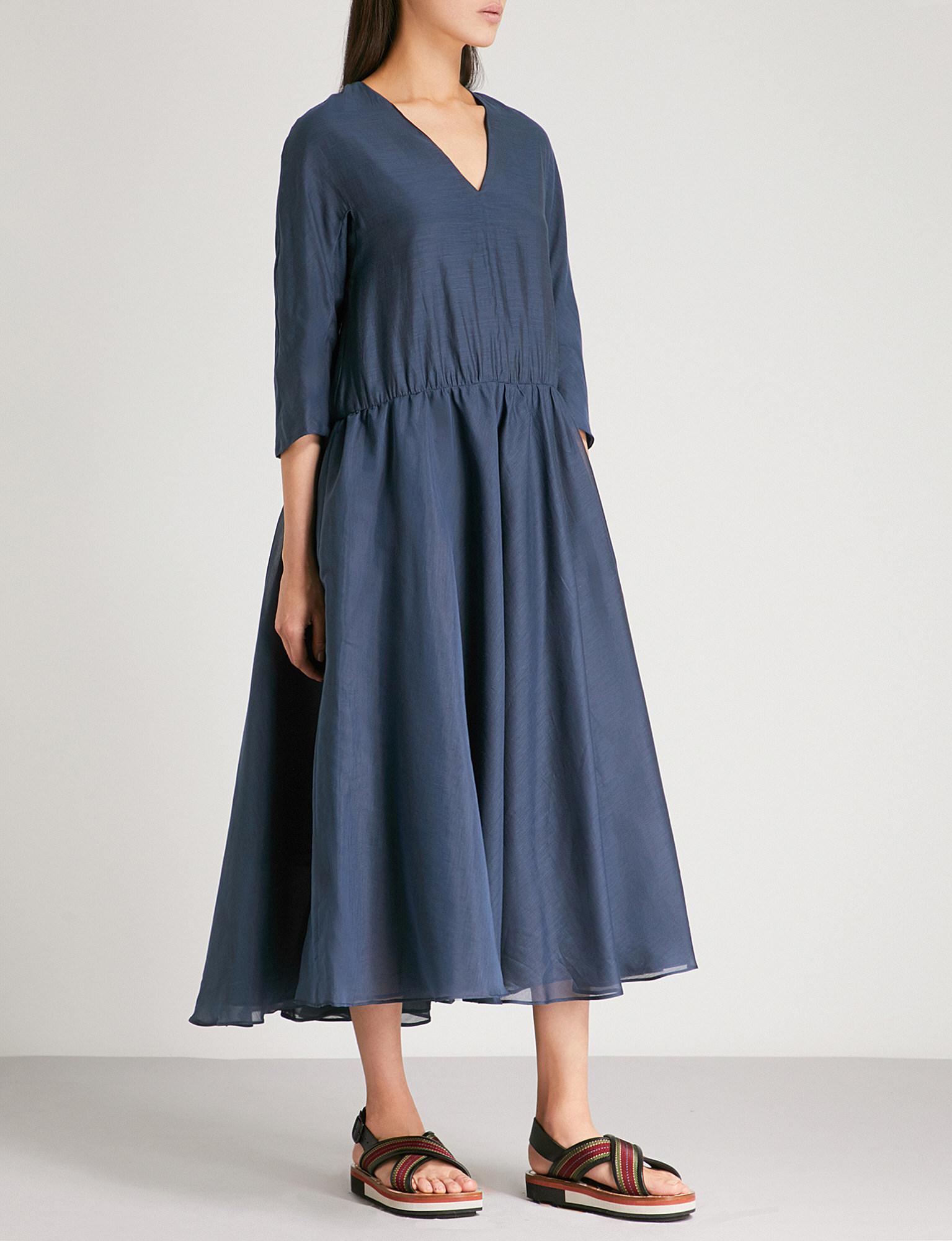 Simeone cotton and silk dress Max Mara 8GSuq