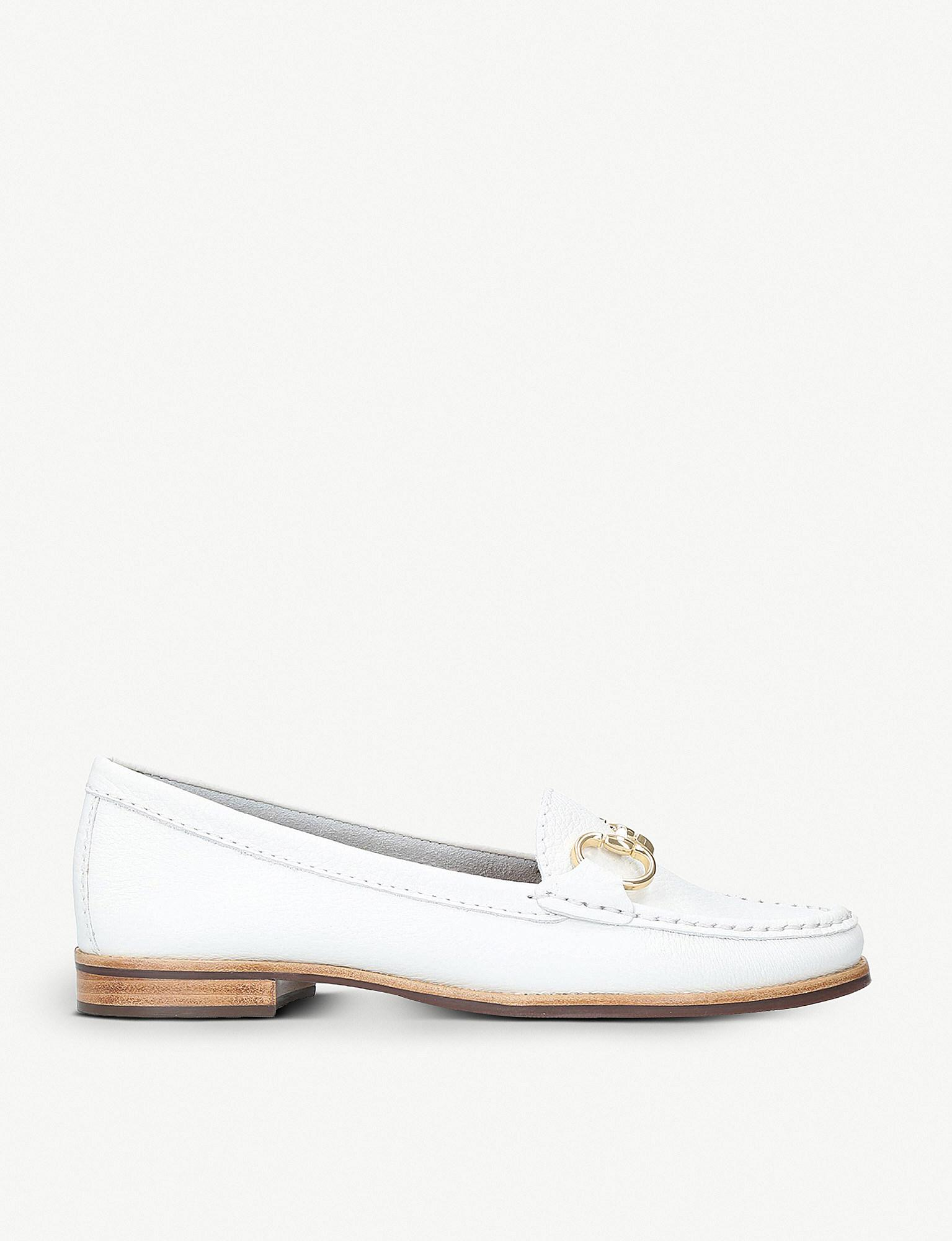 White 'Click' flat loafers comfortable sale online cheap really authentic for sale sale best wholesale free shipping low shipping X27DivN8B