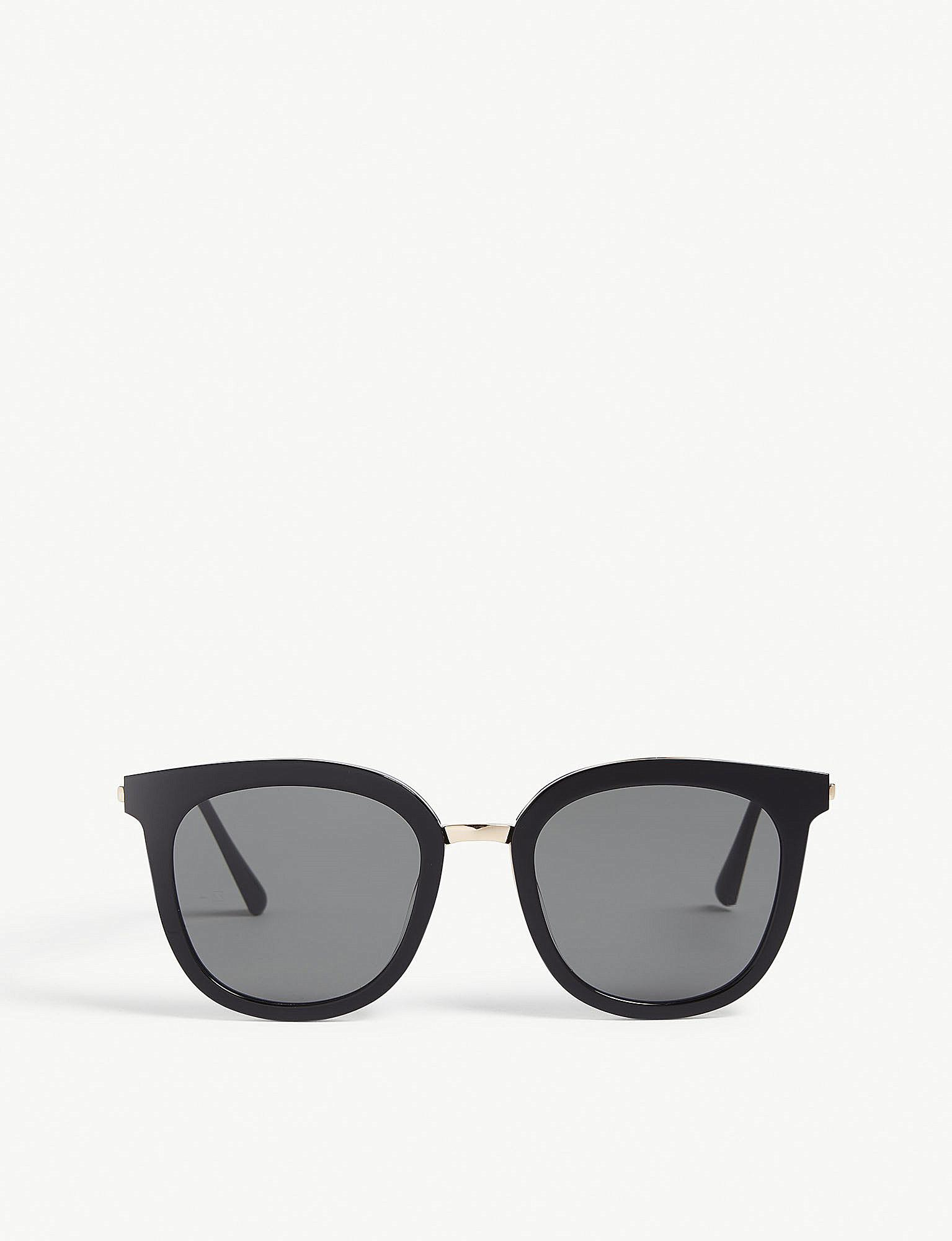 810eb17e1f0f Gentle Monster Slow Slowly Square-frame Sunglasses in Black - Lyst