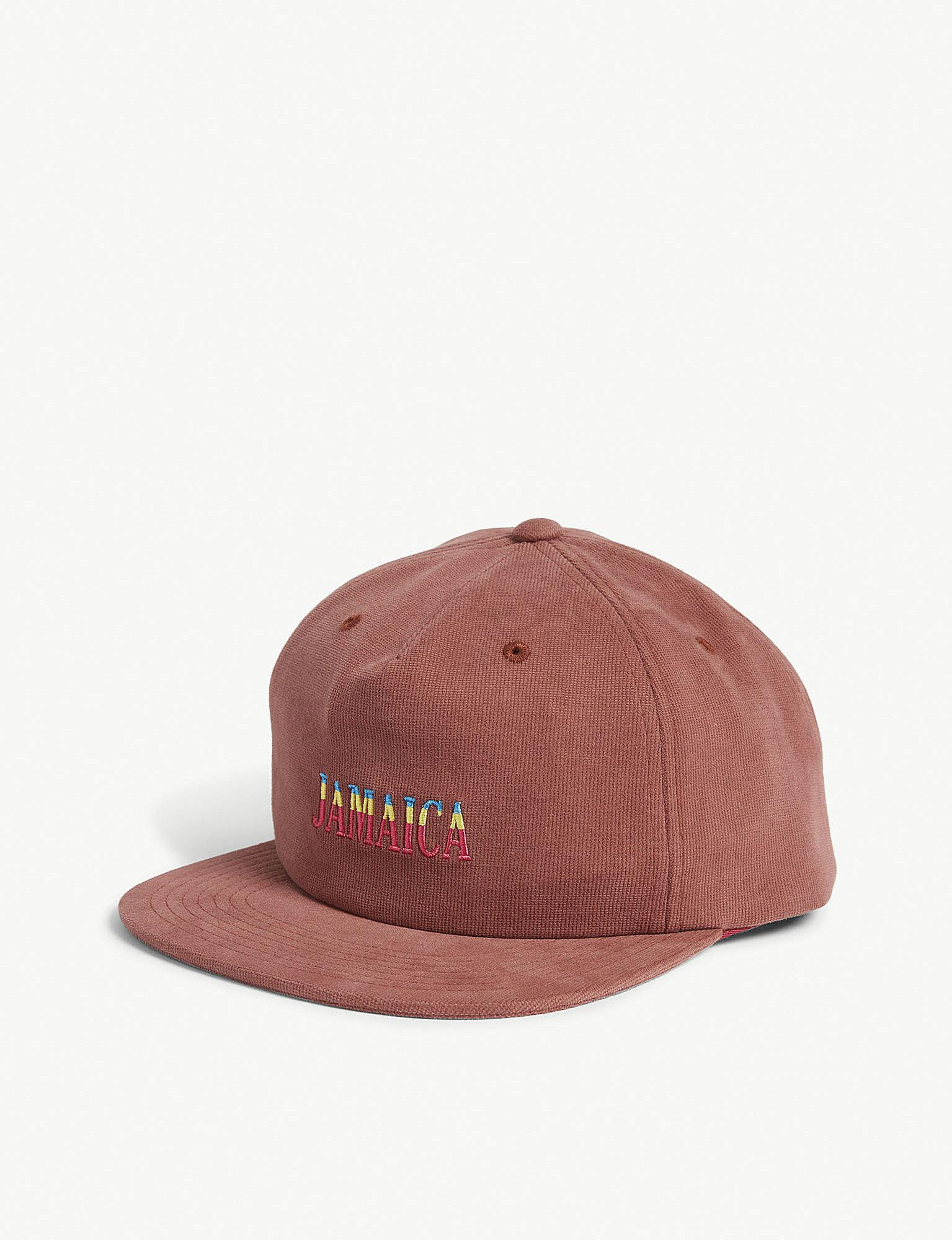 cf43ad2e4b2 Lyst - Stussy Jamaica Corduroy Cap in Brown for Men