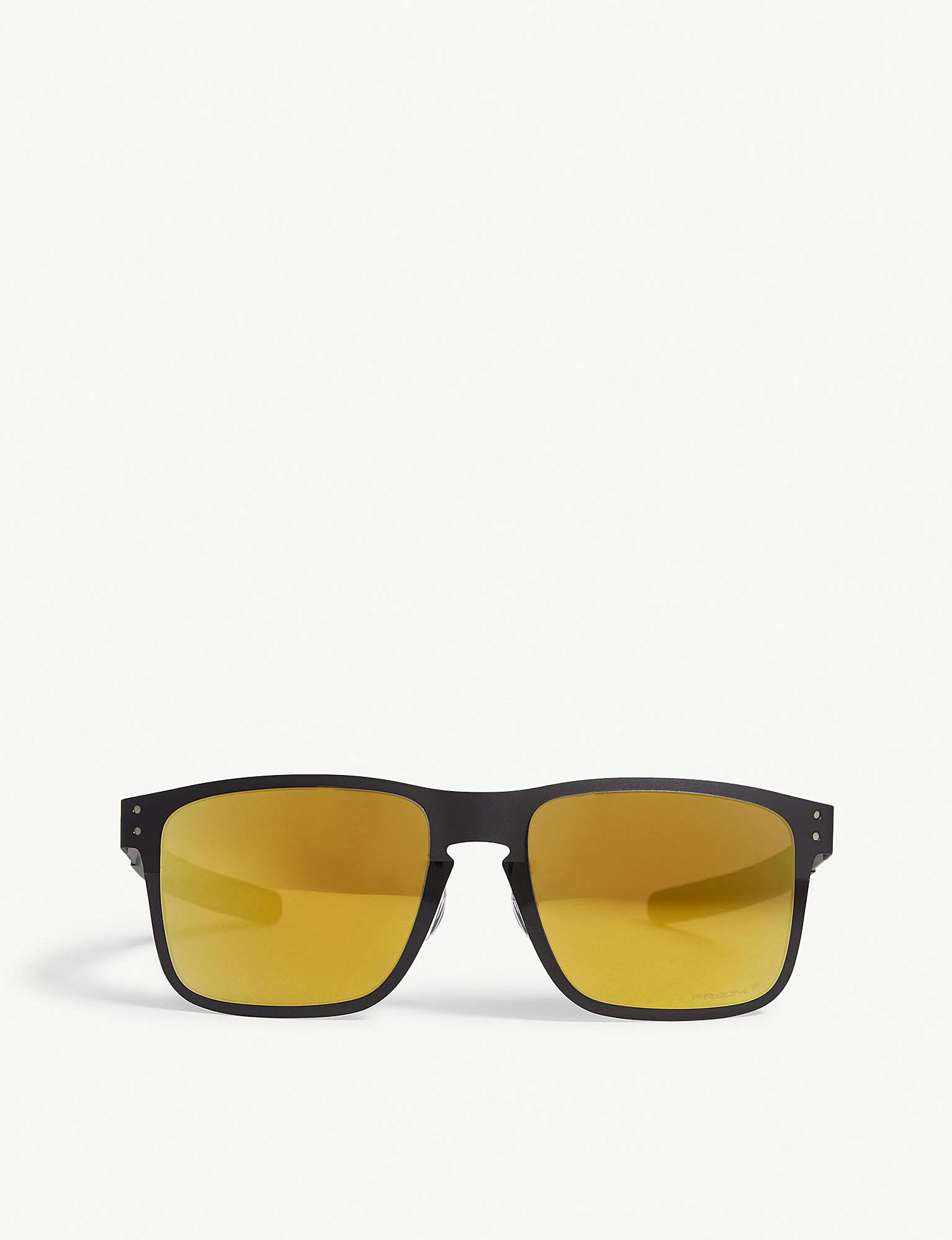 Lyst - Oakley Oo4123-2055 Holbrook Metal Square-frame Sunglasses in ...