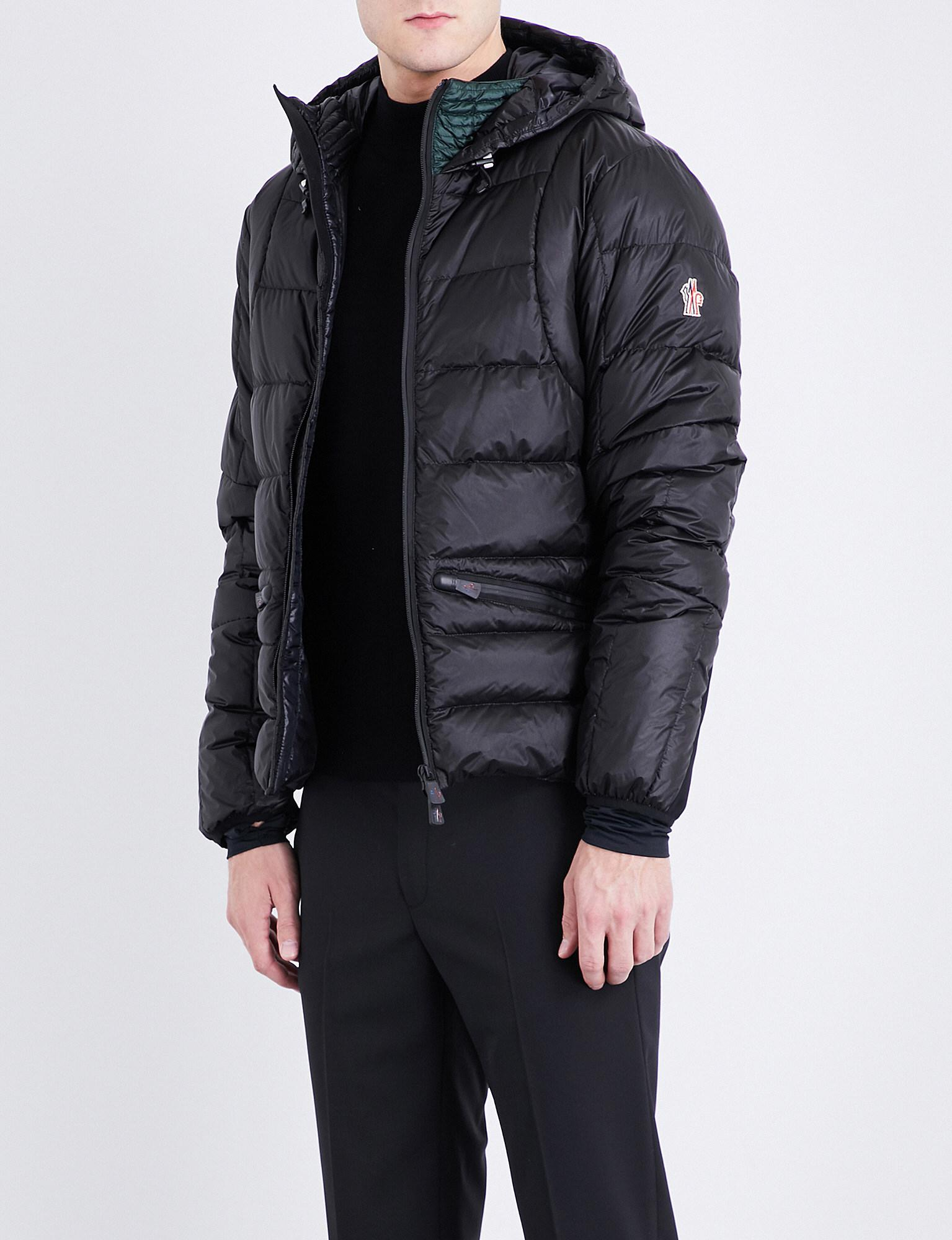 16f9172c1893 ... purchase lyst moncler grenoble mouthe shell down jacket in black for  men 4ceed 33bfb