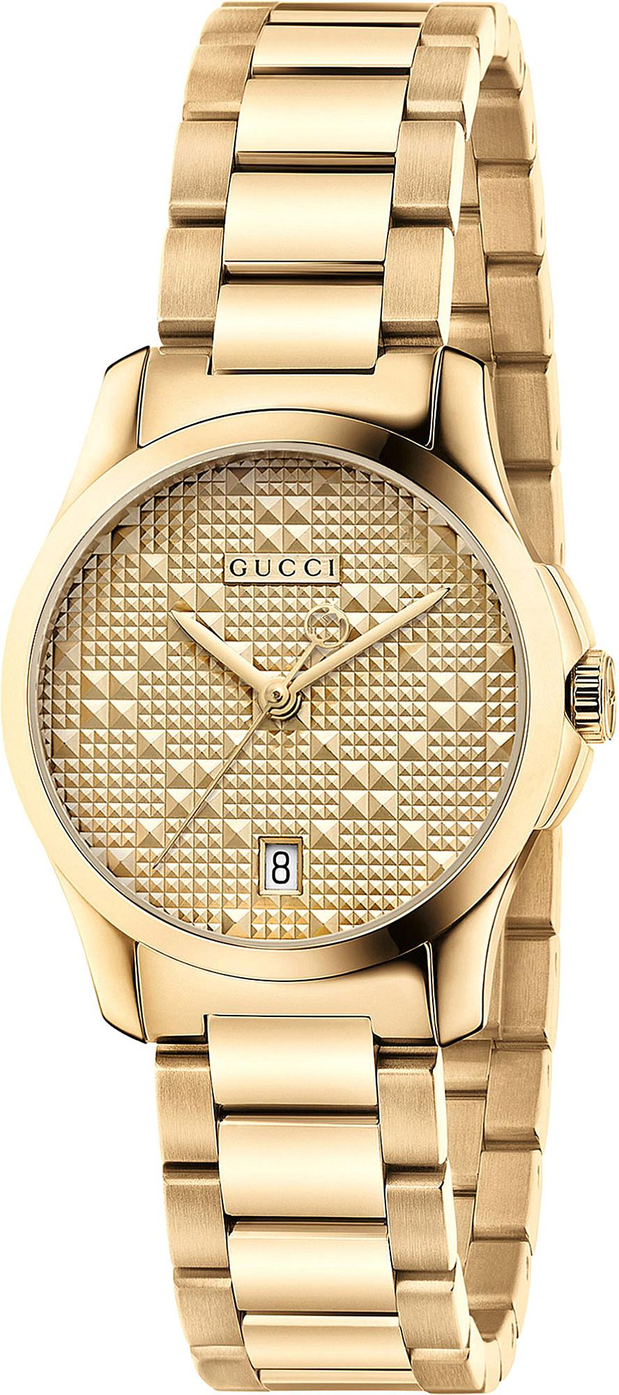 7a32fd909c1670 Gucci. Women s Metallic Ya126553 G Timeless Gold-plated Stainless Steel  Watch