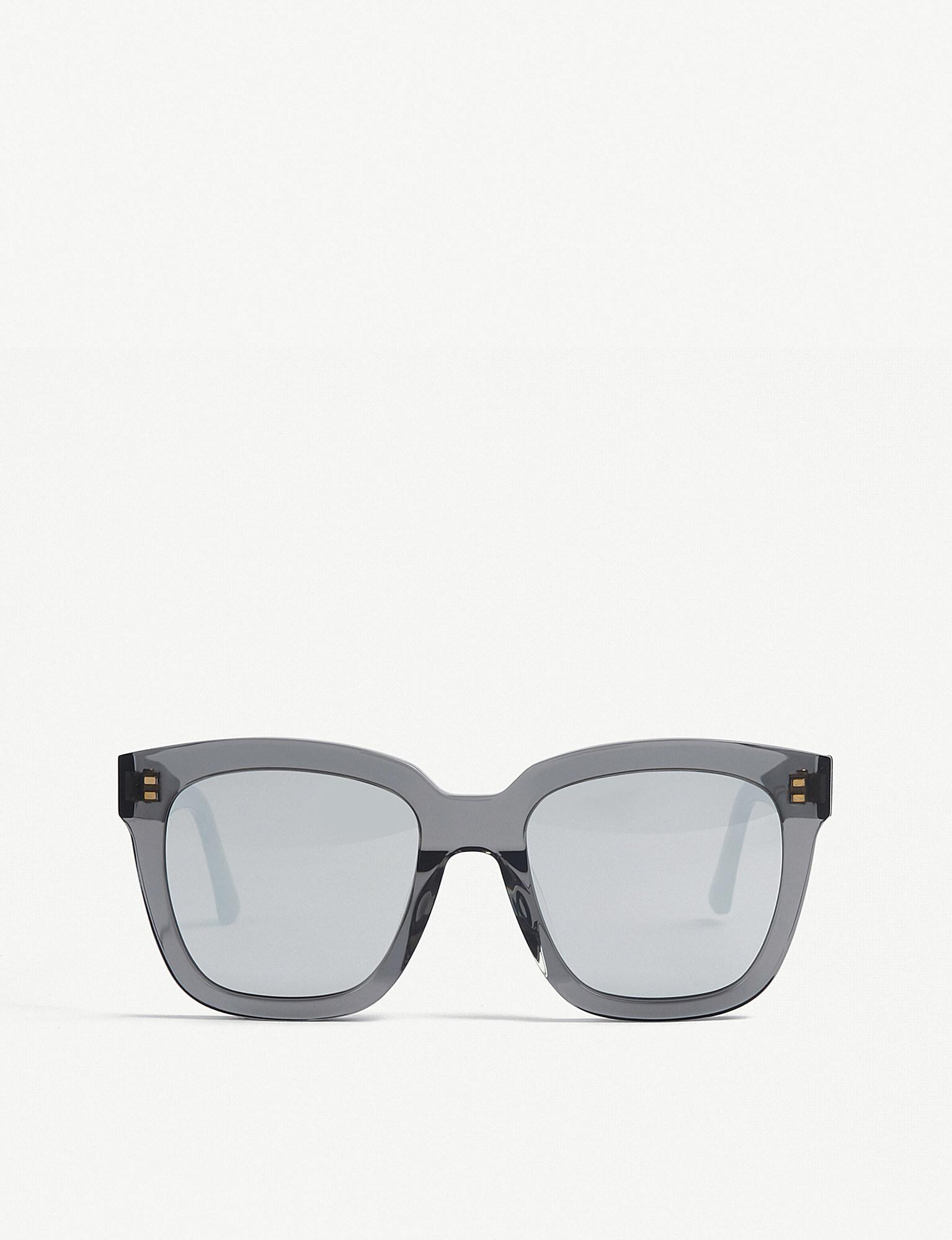 486c3d1628 Lyst - Gentle Monster Dreamer Hoff Mirrored Acetate Sunglasses in Gray
