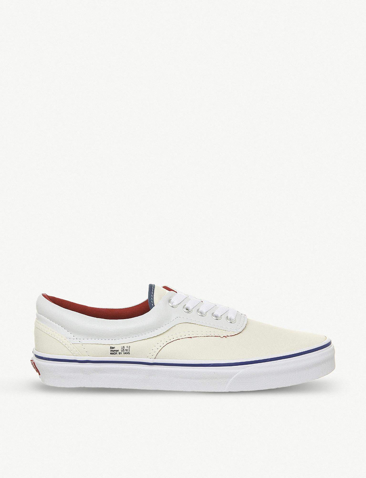 f9f53c96e69 Lyst - Vans Era Outside In Canvas Trainers in White for Men - Save 17%