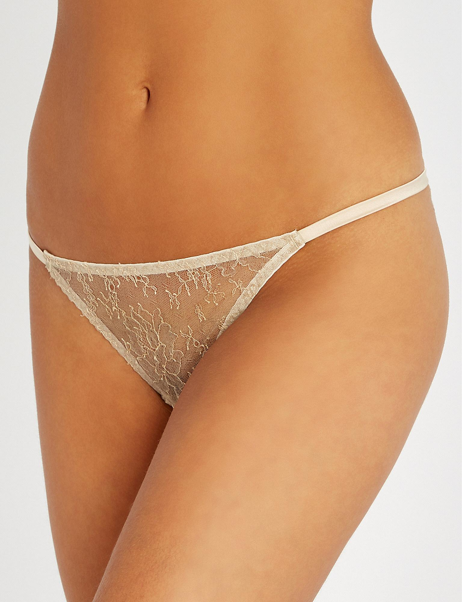8651bbc3d64 Lyst - Myla Darling Row Stretch-lace Thong