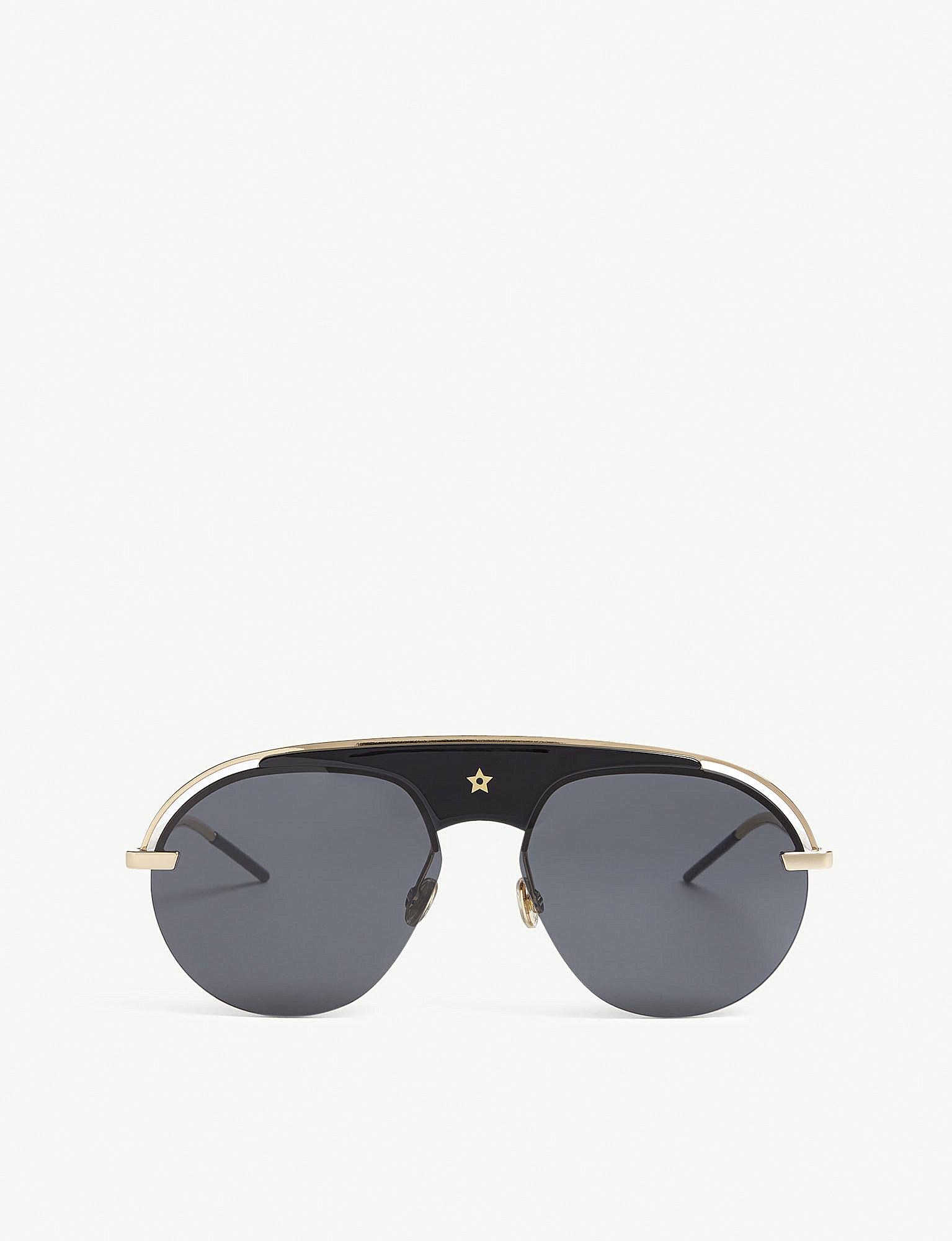 072ee7fd50f Dior Dio(r)evolution Pilot-frame Sunglasses in Black - Lyst