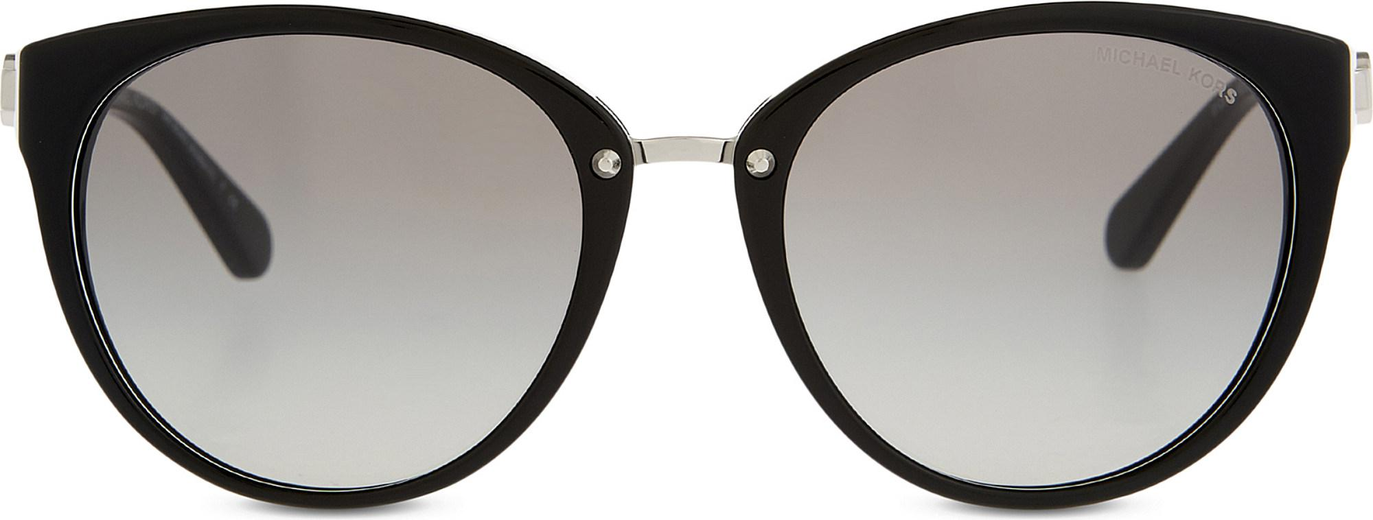 8fbfa9acd5175 Lyst - Michael Kors Mk6039 Abela Iii Cat Eye-frame Sunglasses in Black